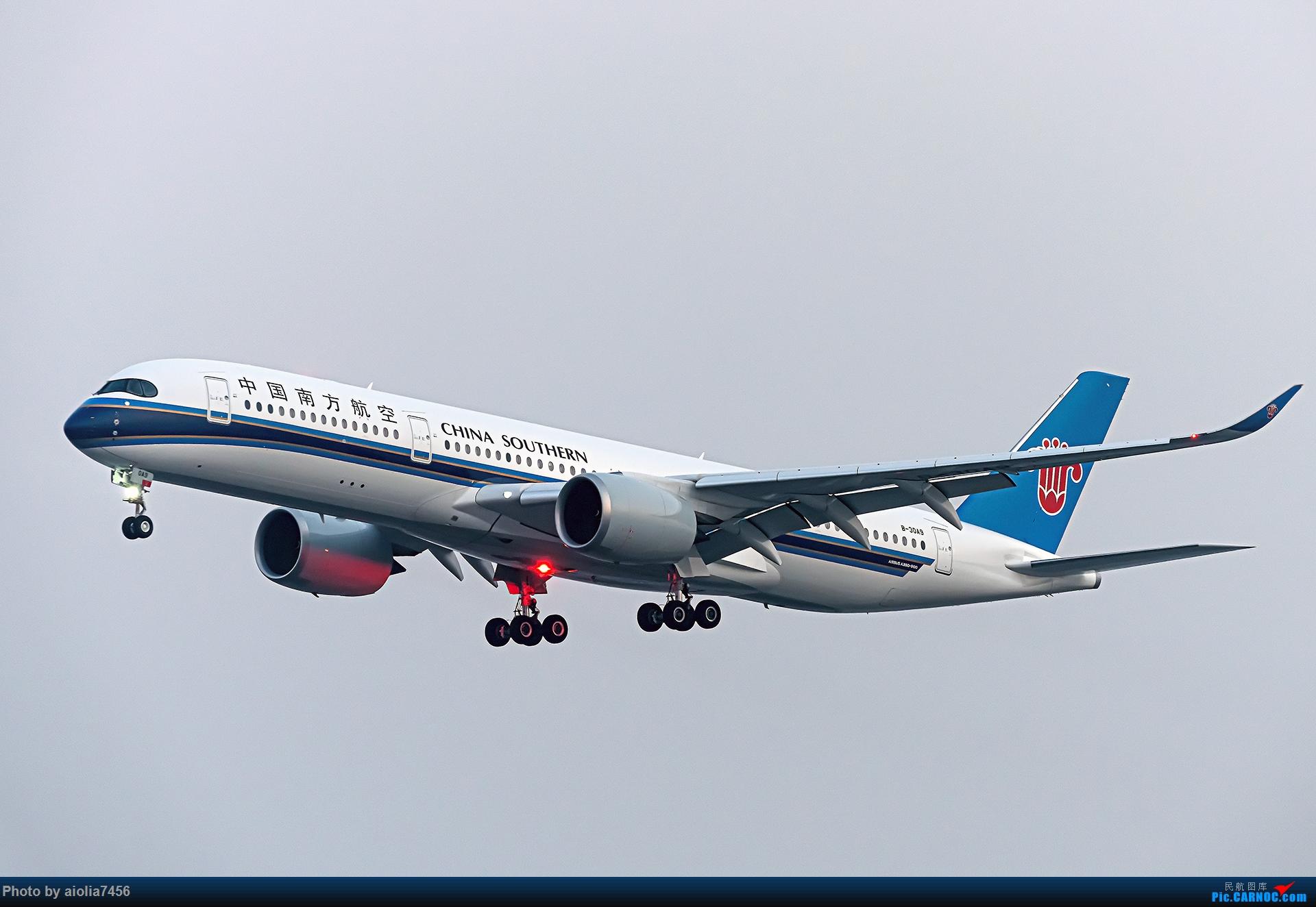 Re:【霸都打机队】上海培训时顺带虹桥扫货,结果遇到水泥天 AIRBUS A350-900 B-30A9 中国上海虹桥国际机场