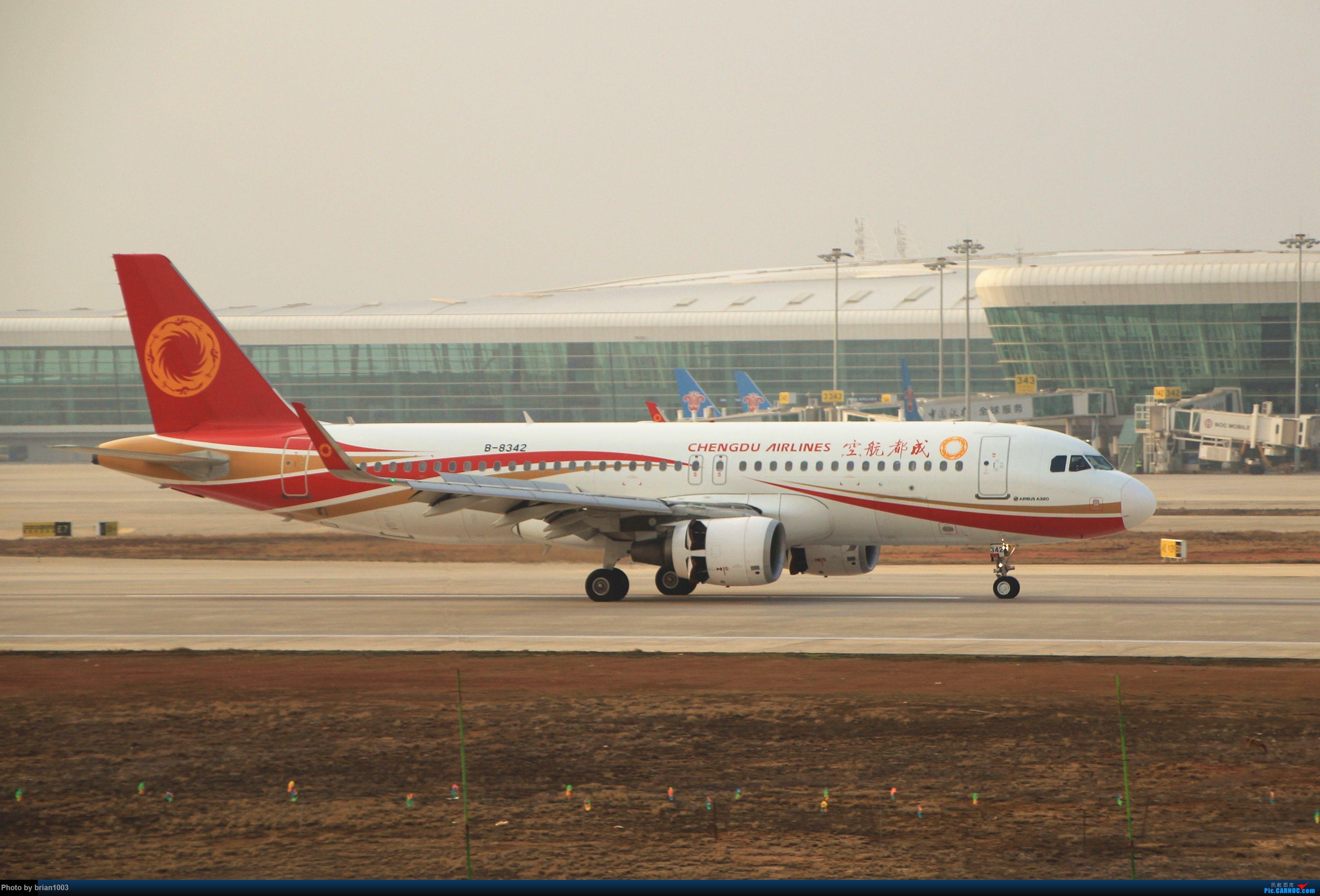 [原创]WUH天河机场拍机之2019最后一拍 AIRBUS A320-200 B-8342 中国武汉天河国际机场