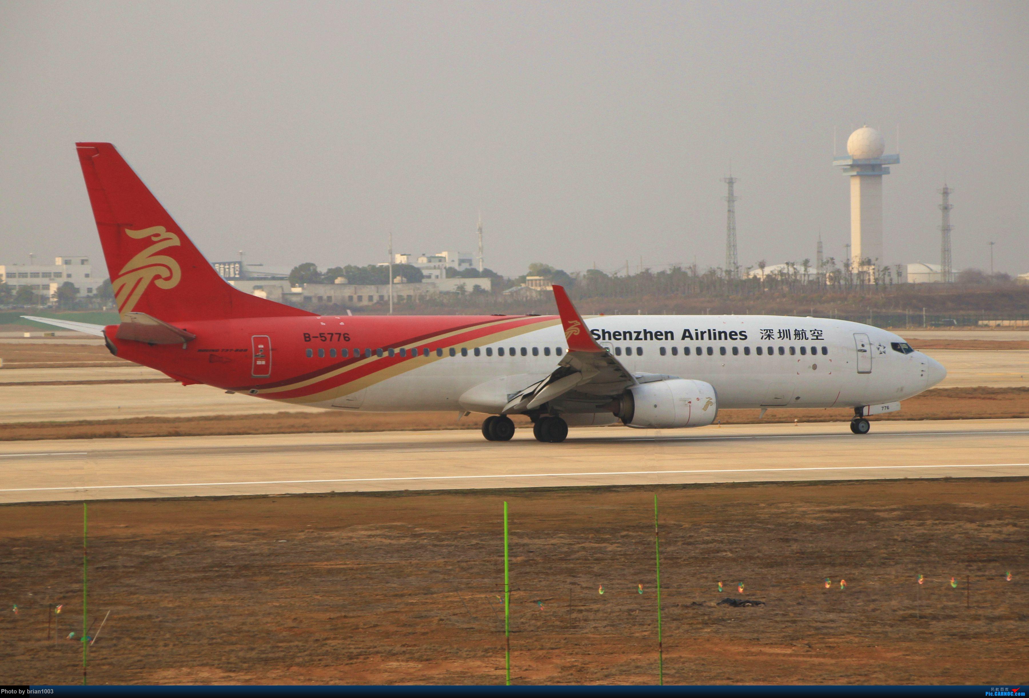 Re:[原创]WUH天河机场拍机之2019最后一拍 BOEING 737-800 B-5776 中国武汉天河国际机场