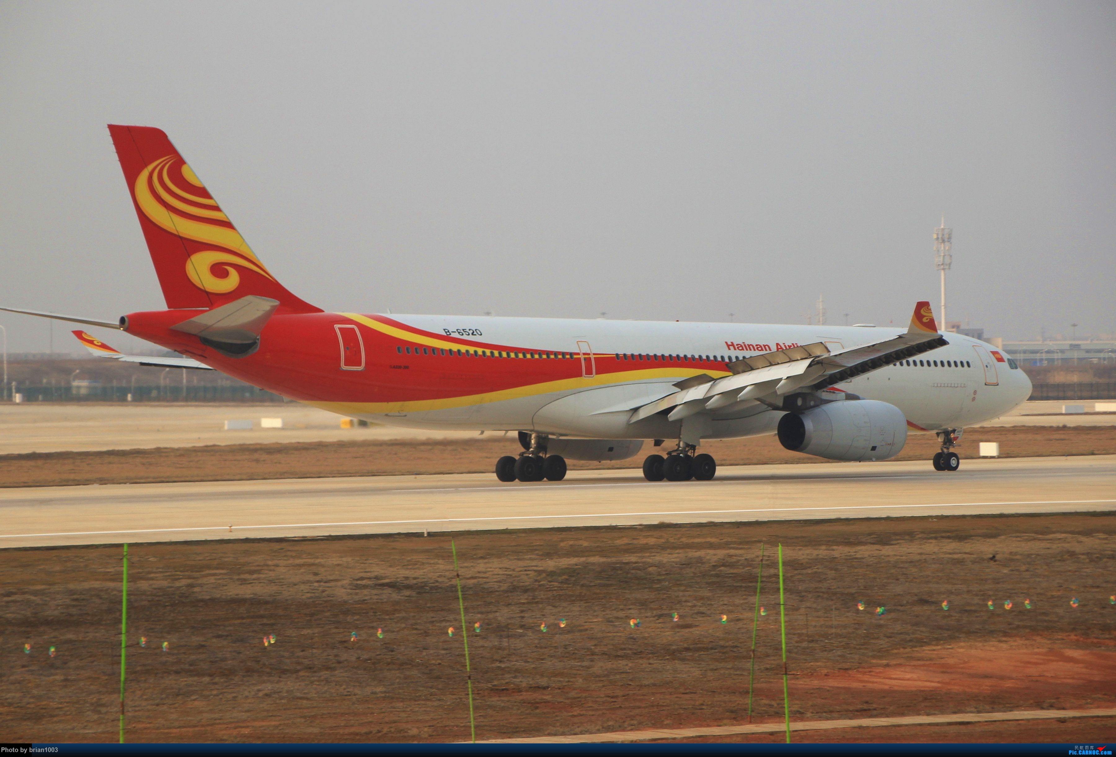 Re:[原创]WUH天河机场拍机之2019最后一拍 AIRBUS A330-300 B-6520 中国武汉天河国际机场