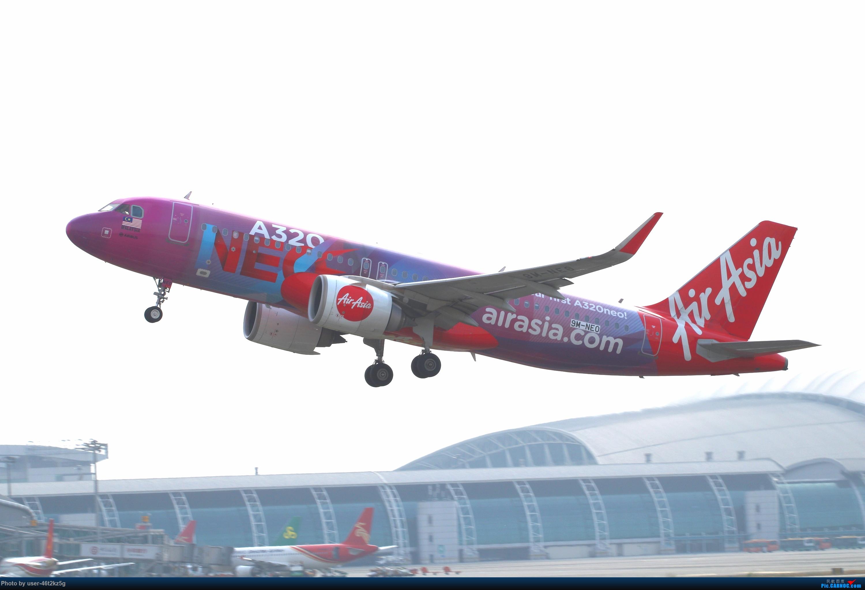亚航第一架320NEO AIRBUS A320NEO 9M-NEO 广州白云国际机场