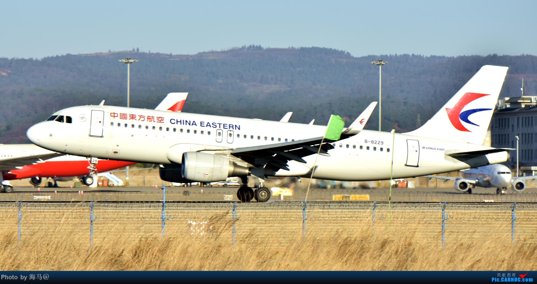 Re:[原创]长水东跑道外土坡拍机 AIRBUS A320-200 B-8229 中国昆明长水国际机场