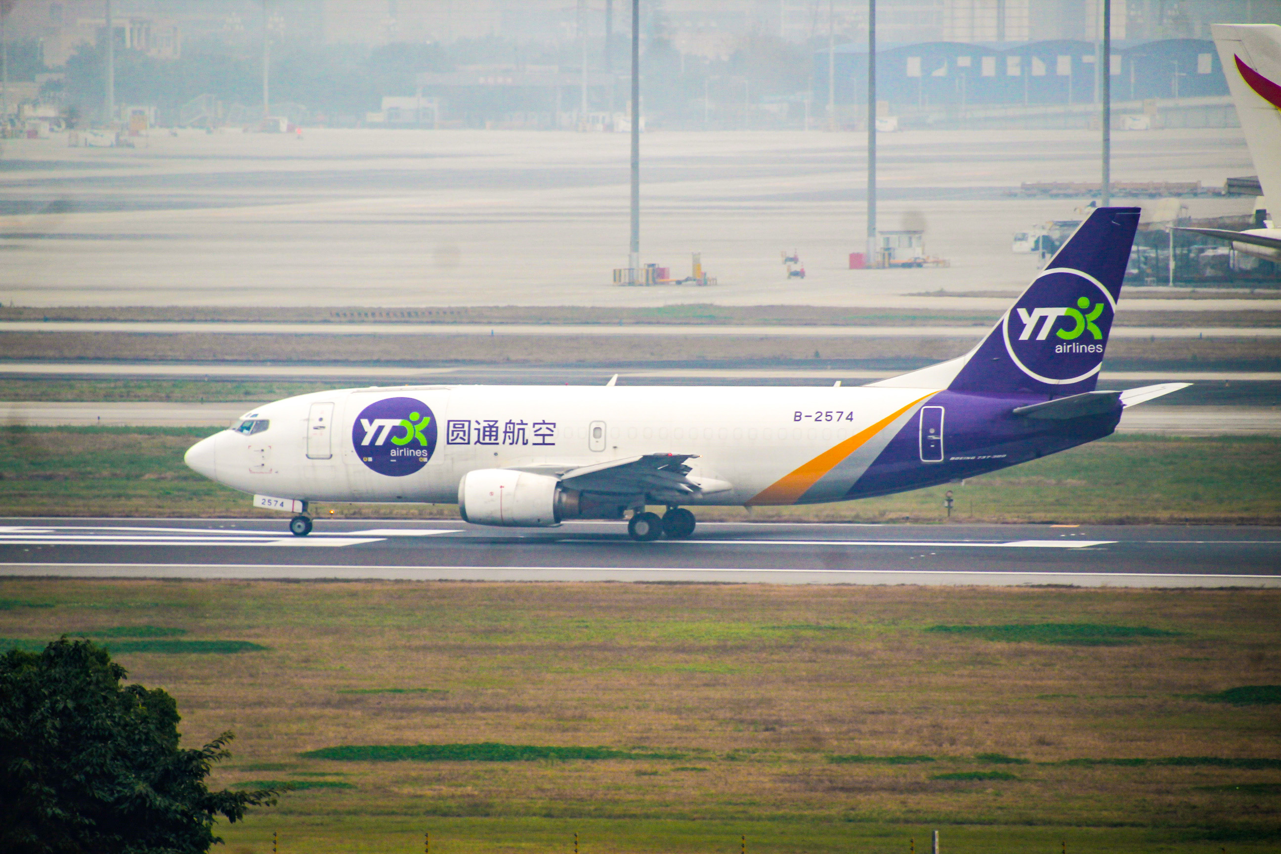 Re:[原创]CTU水泥天拍机,验证烂天好货的铁律 BOEING 737-300 B-2574 中国成都双流国际机场