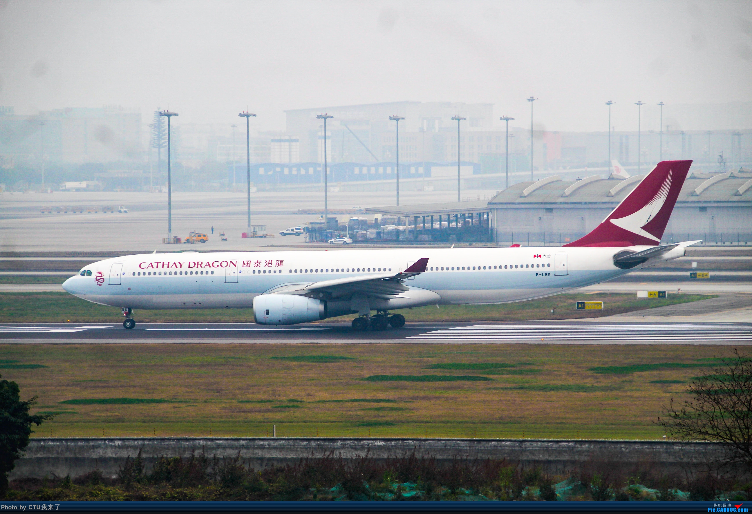 Re:[原创]CTU水泥天拍机,验证烂天好货的铁律 AIRBUS A330-300 B-LBK 中国成都双流国际机场