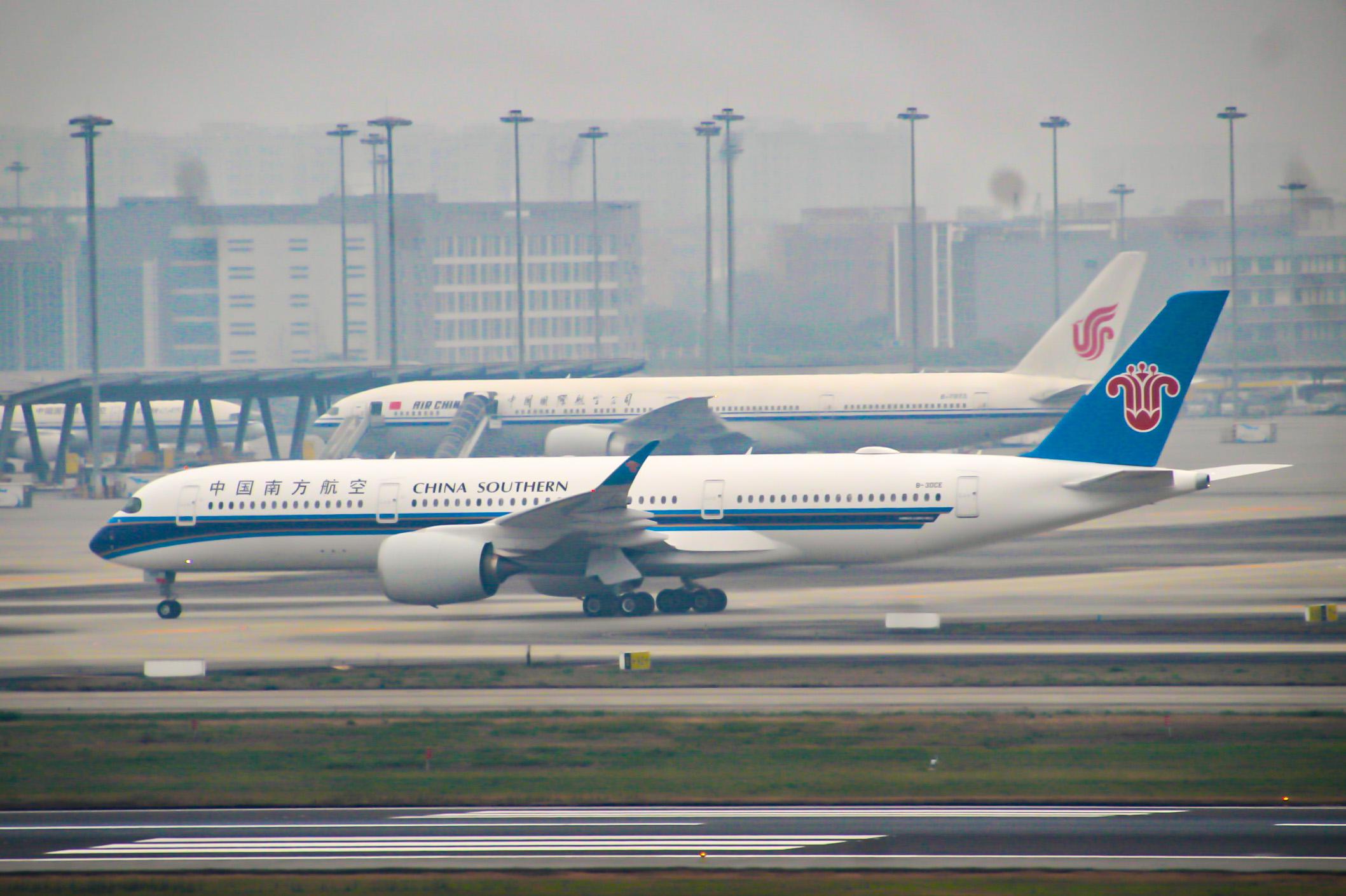 Re:[原创]CTU水泥天拍机,验证烂天好货的铁律 AIRBUS A350-900 B-30CE 中国成都双流国际机场