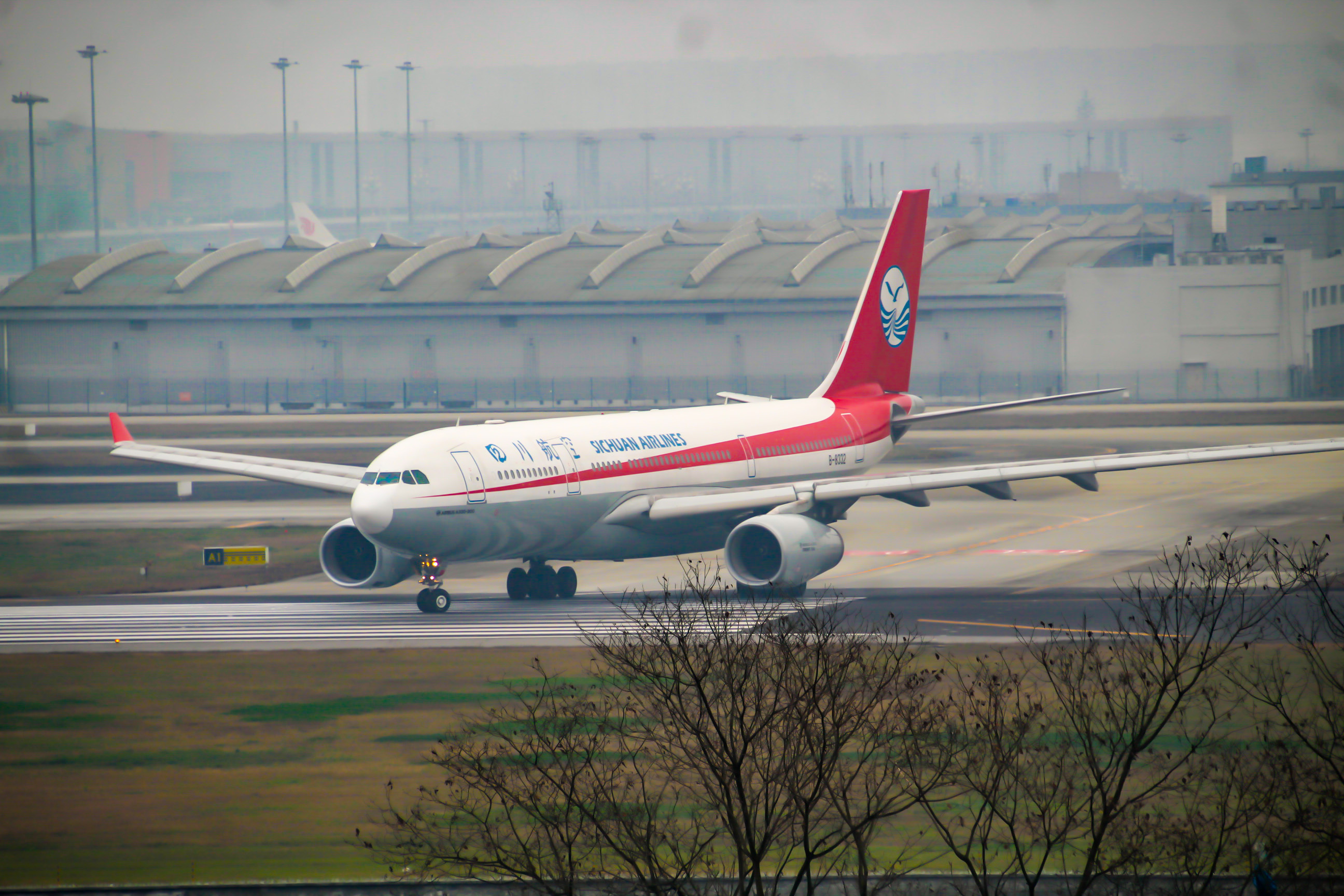Re:[原创]CTU水泥天拍机,验证烂天好货的铁律 AIRBUS A330-200 B-8332 中国成都双流国际机场