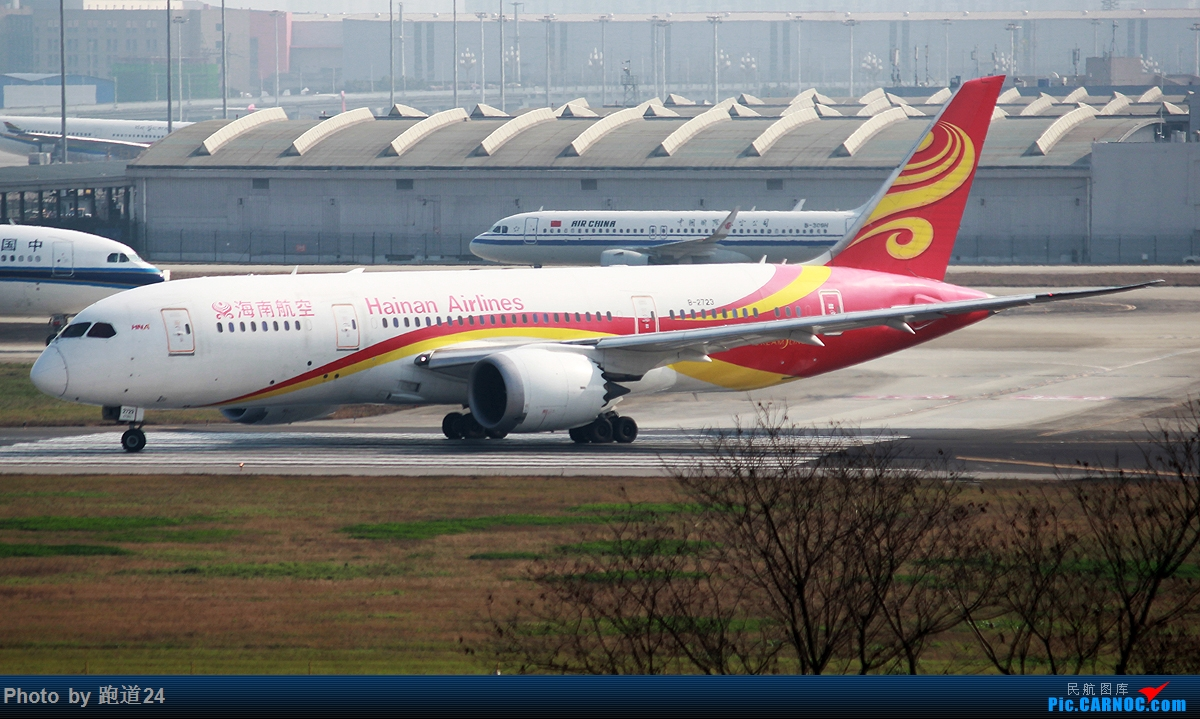 Re:[原创]【多图党】杂图 1200×675 BOEING 787-8 B-2723 中国成都双流国际机场
