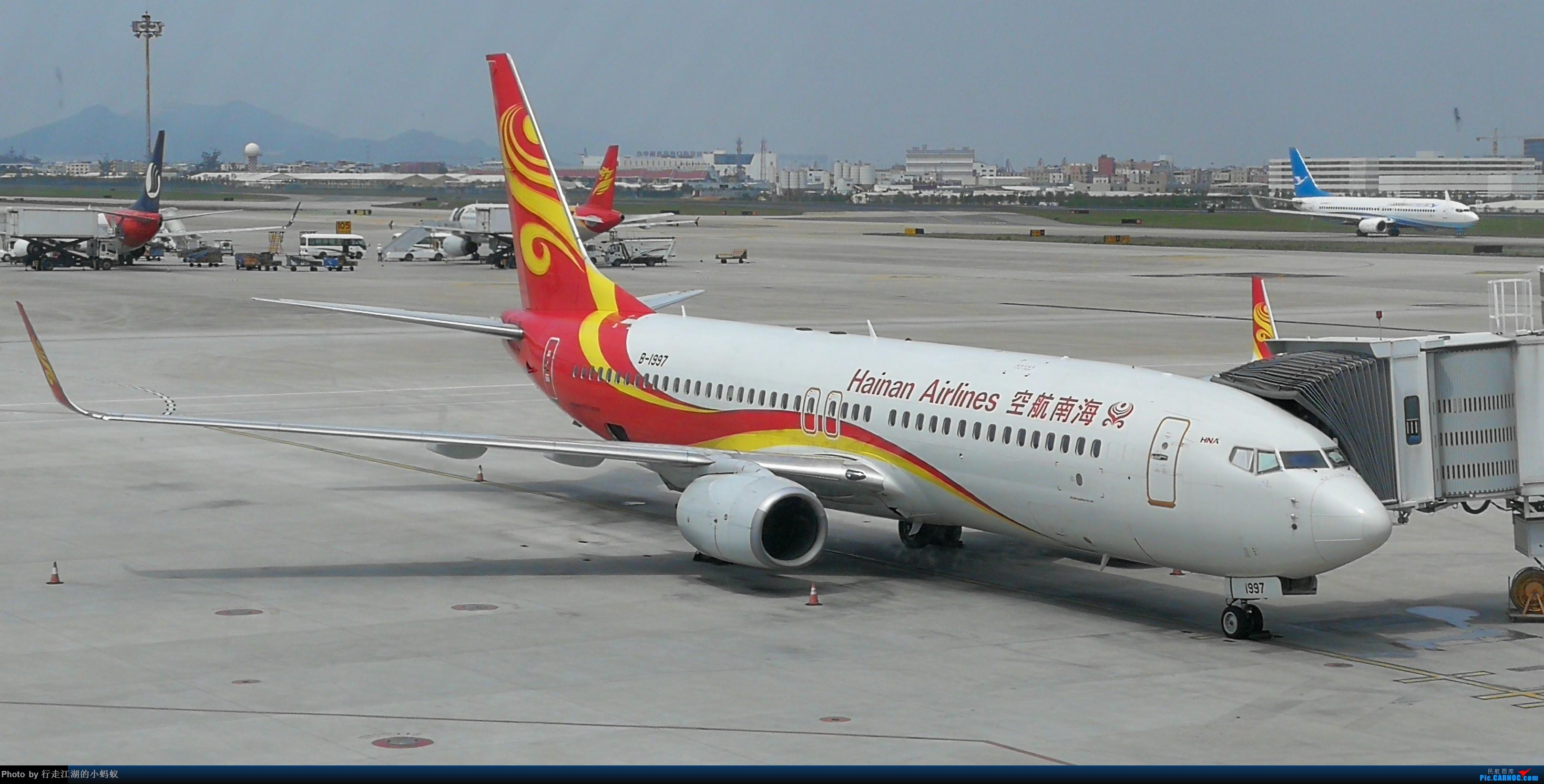 白云机场拍机 BOEING 737-800 B-1997 中国广州白云国际机场