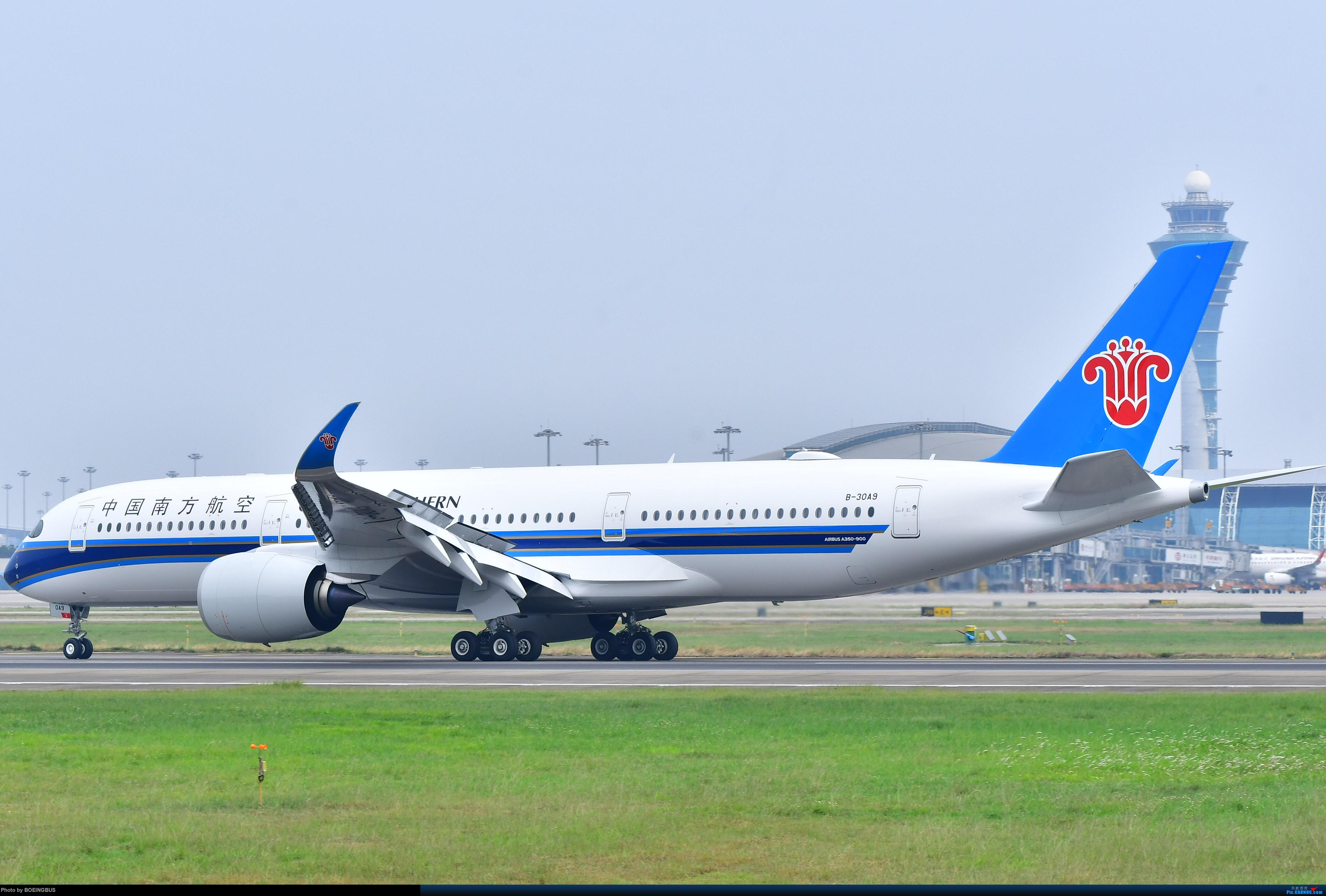 Re:[原创]祝各位飞友新年快乐! AIRBUS A350-900 B-30A9 中国广州白云国际机场