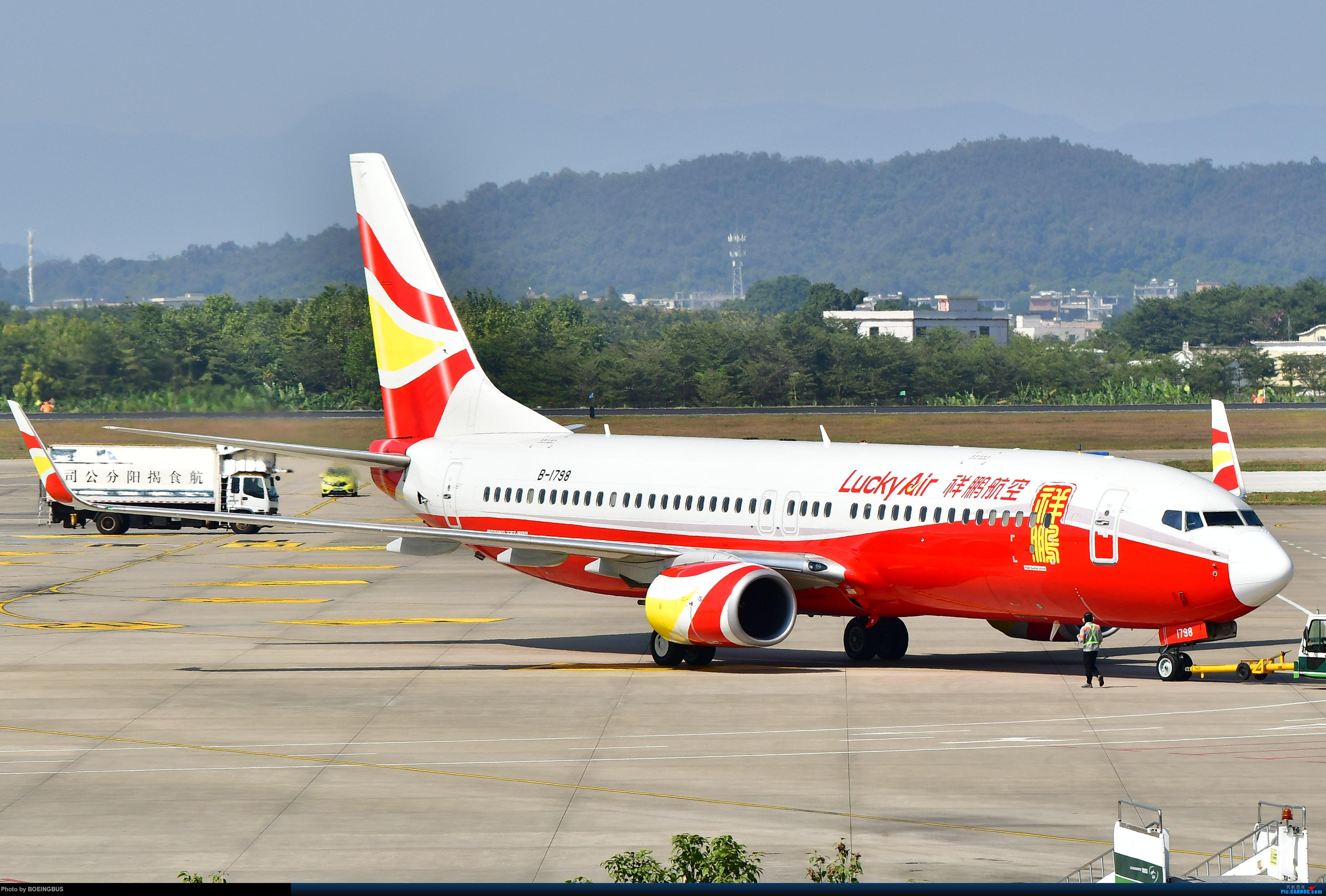 Re:[原创]一批拙作,祝CARNOC的飞友们鼠年大吉! BOEING 737-800 B-1798 中国揭阳潮汕国际机场