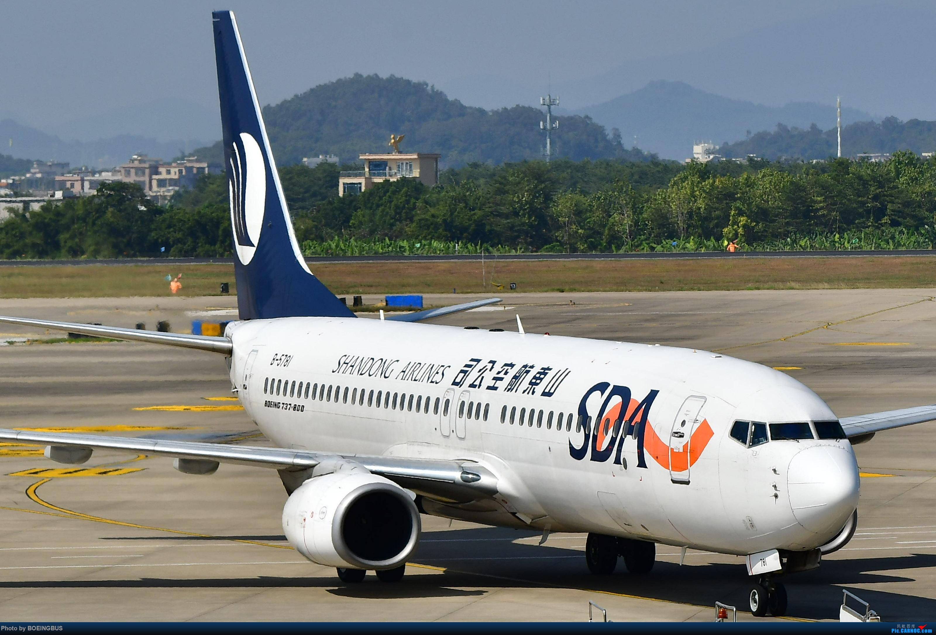 Re:[原创]一批拙作,祝CARNOC的飞友们鼠年大吉! BOEING 737-800 B-5781 中国揭阳潮汕国际机场