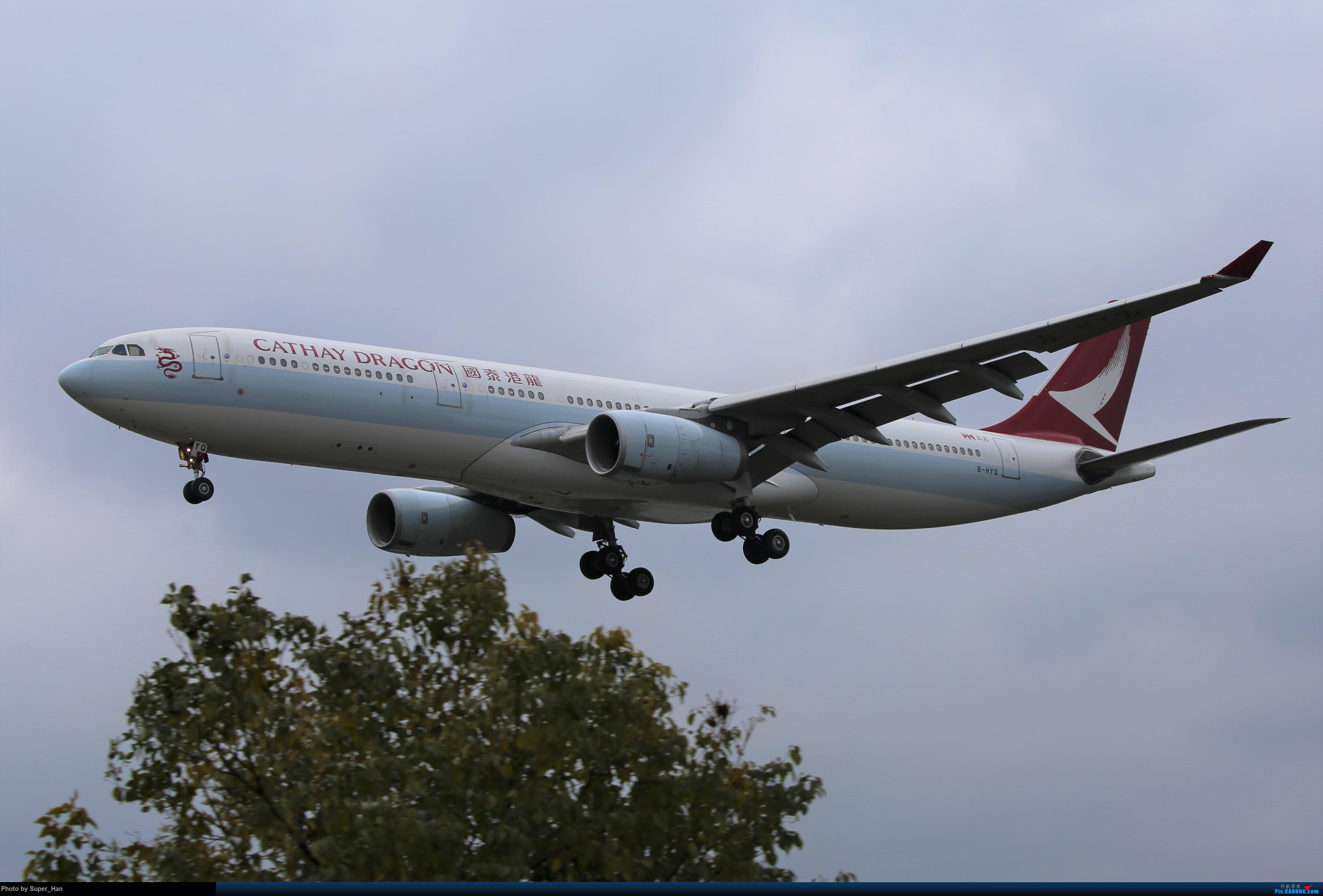 Re:[原创]【杭州飞友会】大雨过后 AIRBUS A330-300 B-HYQ 中国杭州萧山国际机场