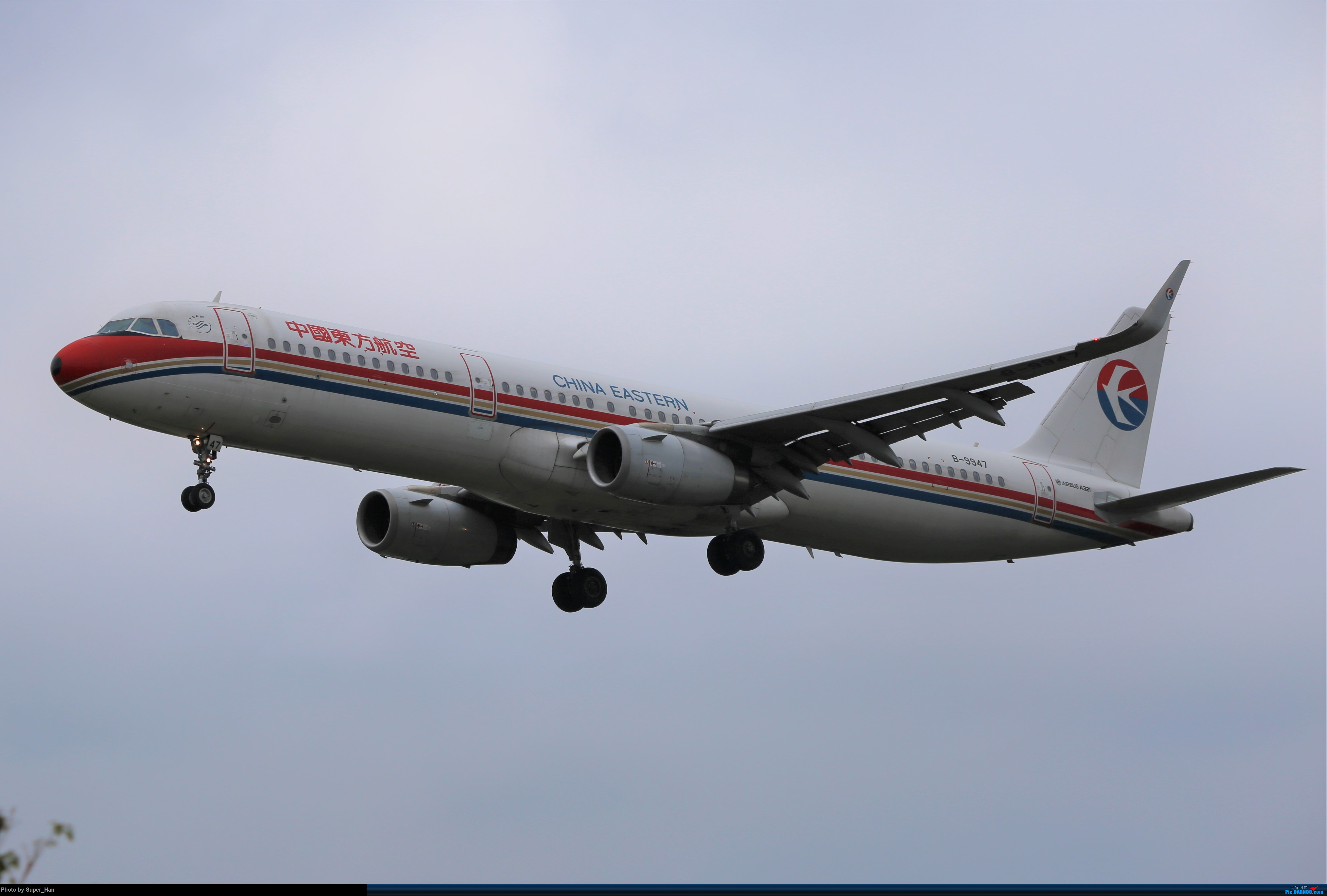 Re:[原创]【杭州飞友会】大雨过后 AIRBUS A321-200 B-9947 中国杭州萧山国际机场
