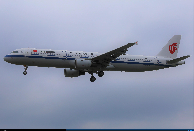 Re:[原创]【杭州飞友会】大雨过后 AIRBUS A321-200 B-6327 中国杭州萧山国际机场