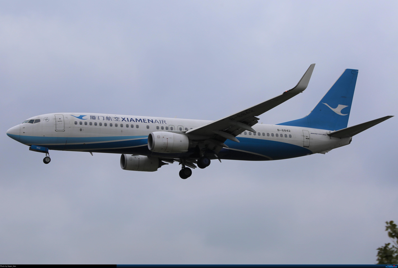 Re:[原创]【杭州飞友会】大雨过后 BOEING 737-800 B-6842 中国杭州萧山国际机场