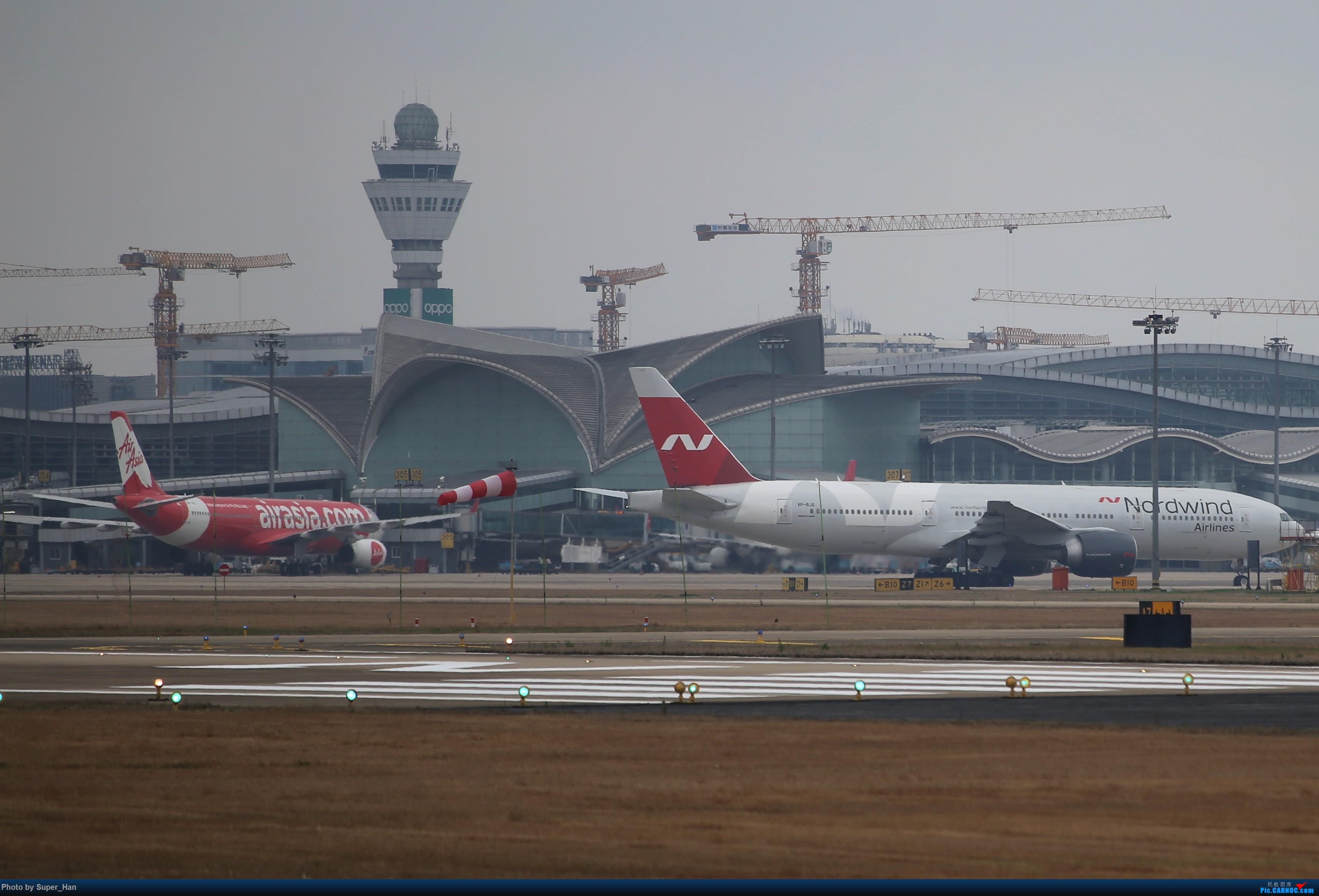 Re:[原创]【杭州飞友会】大雨过后 BOEING 777-200ER VP-BJG 中国杭州萧山国际机场
