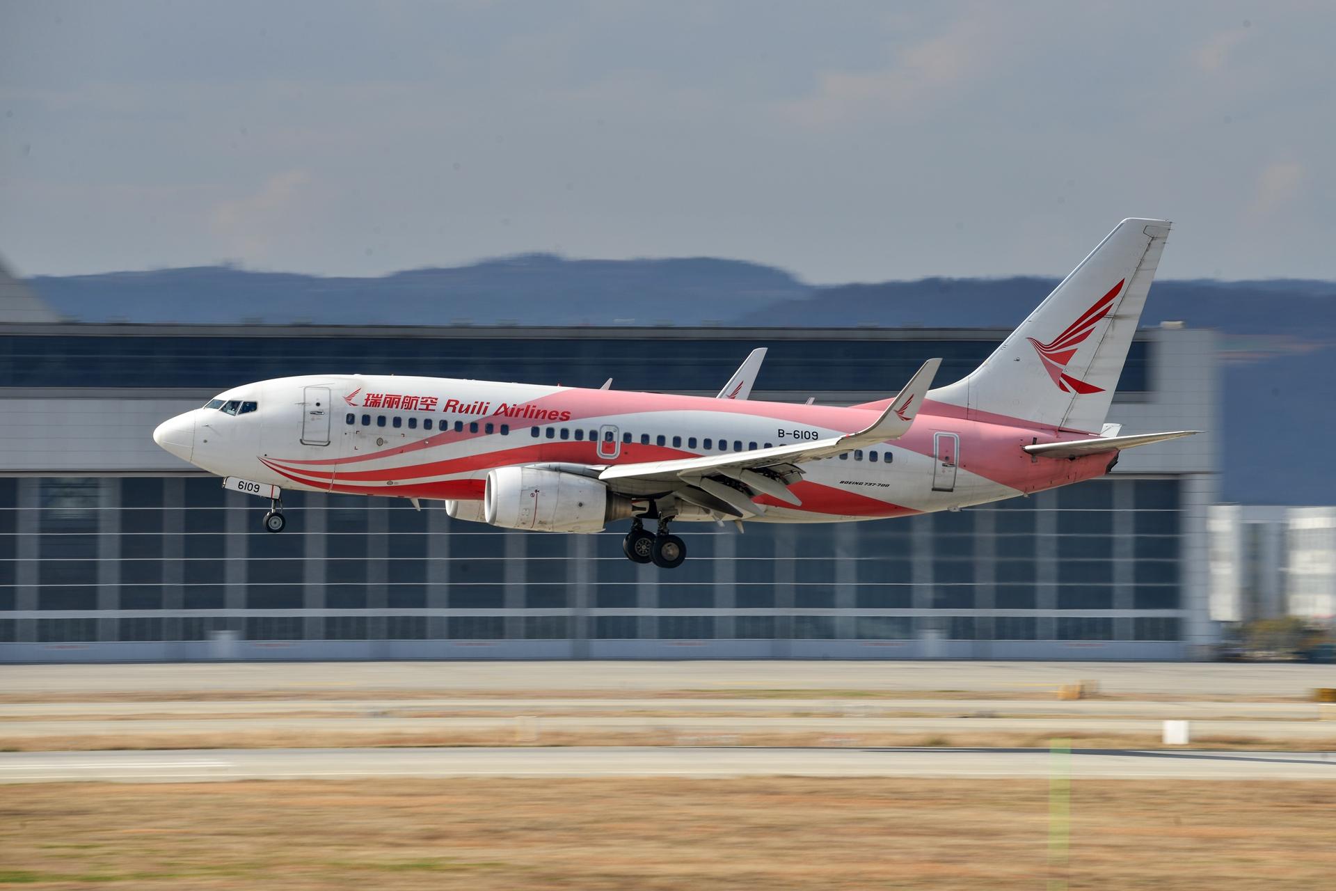 Re:[原创]2020冒泡贴 KMG的日常 BOEING 737-700 B-6109 中国昆明长水国际机场