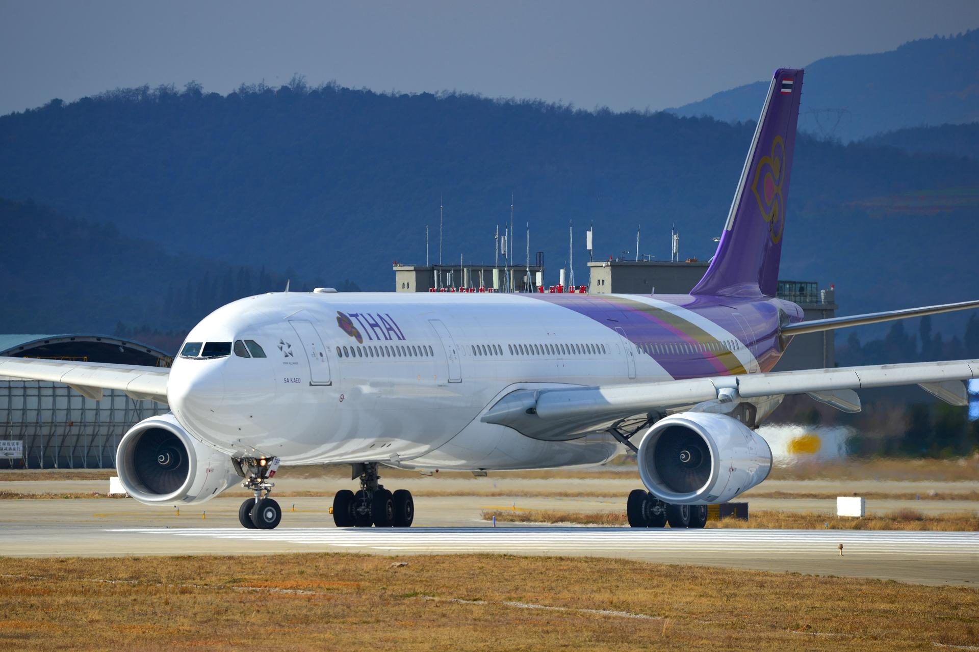Re:[原创]2020冒泡贴 KMG的日常 AIRBUS A330-300 HS-TBF 中国昆明长水国际机场