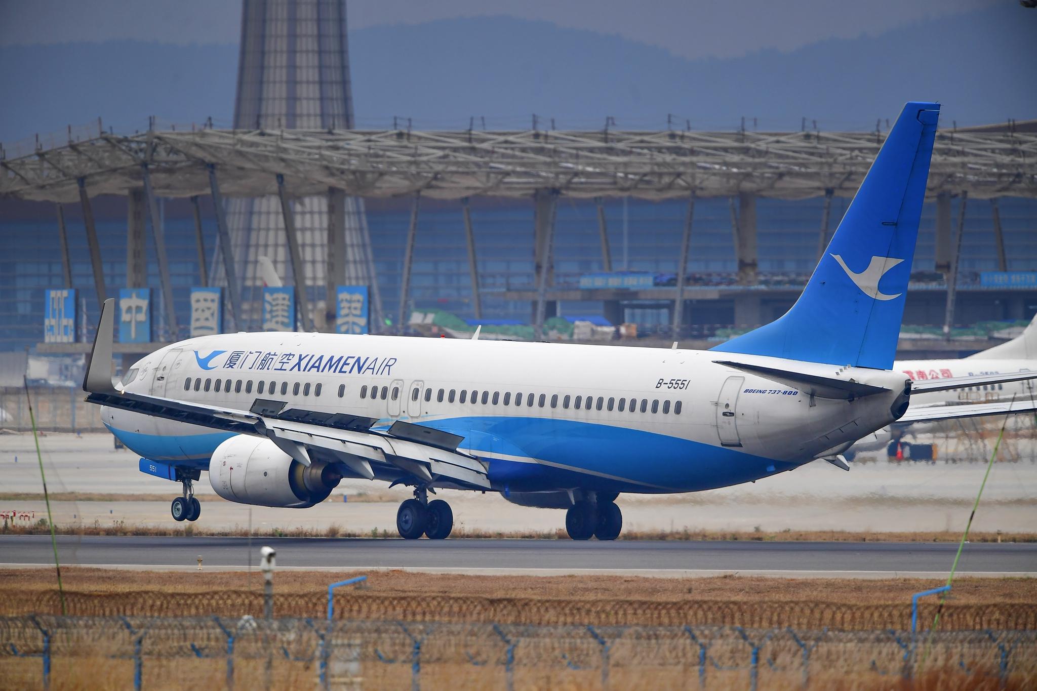 Re:[原创]KMG 庚子年初四再赴长水之约 都是似曾相识 都是熟悉的味道 BOEING 737-800 B-5551 中国昆明长水国际机场