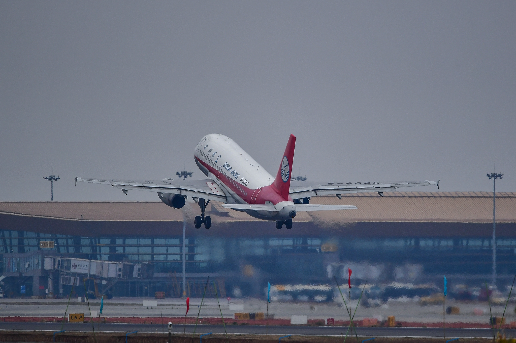 Re:[原创]KMG 庚子年初四再赴长水之约 都是似曾相识 都是熟悉的味道 AIRBUS A319-100 B-6045 中国昆明长水国际机场