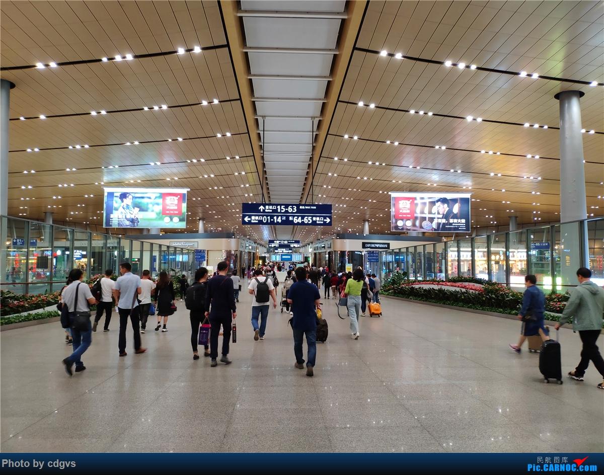 [原创]一次川渝行,感谢遇到的人和事 KMG-CTU CKG-KMG 祥鹏公务舱初体验    中国昆明长水国际机场