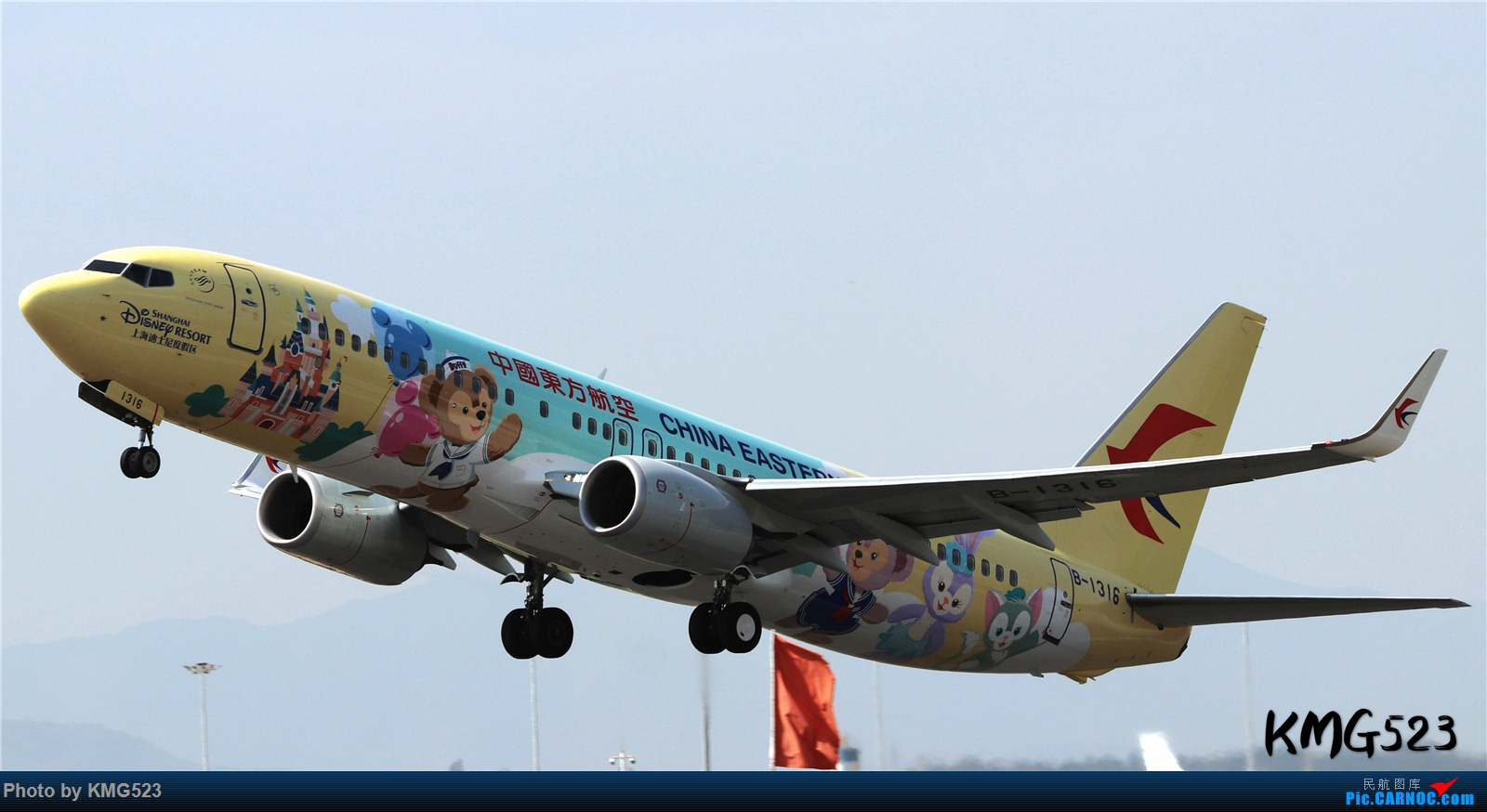 Re:老图,难得有空在家发一下下 BOEING 737-800 B-1316 中国昆明长水国际机场