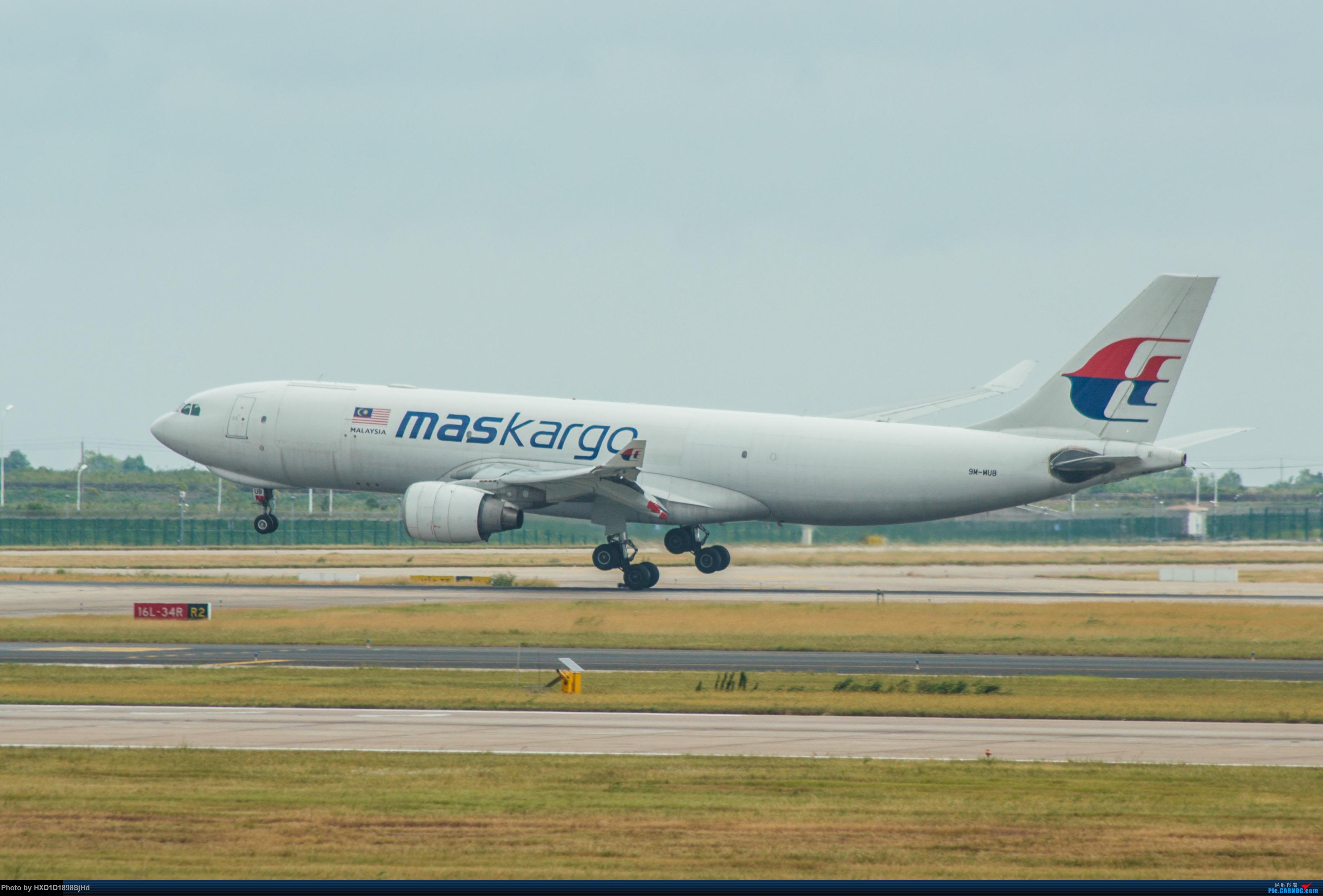 [原创]马航货机台风过后的高难度侧风降落 AIRBUS A330-200F 9M-MUB 中国上海浦东国际机场
