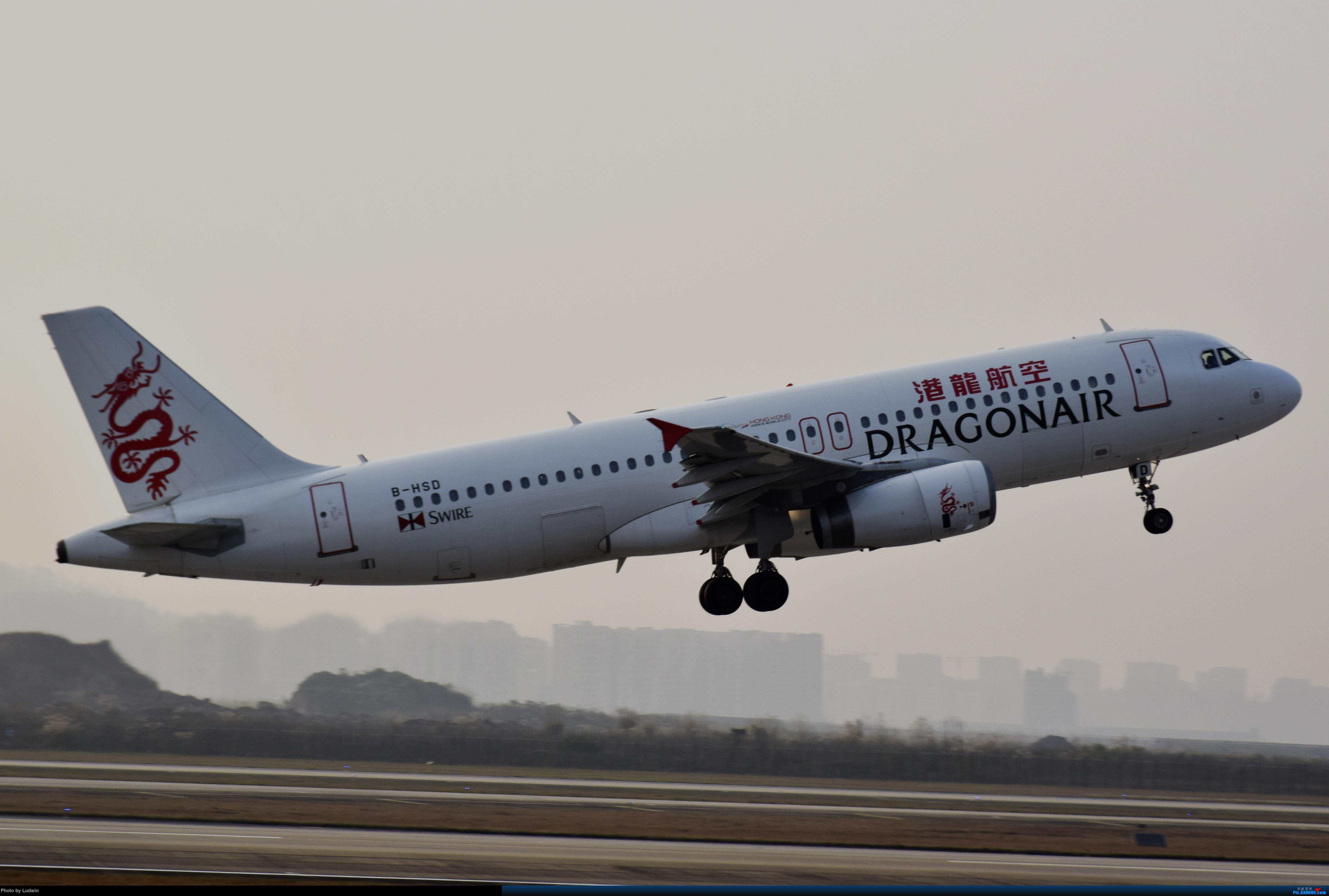 [原创]一图 港龙320 AIRBUS A320-200 B-HSD 中国重庆江北国际机场