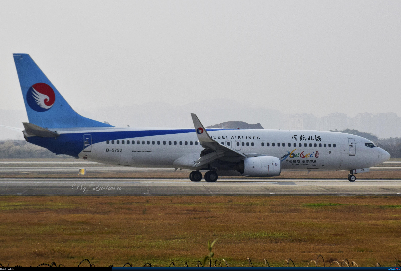 Re:[原创]【新人首发】重庆江北的下午 BOEING 737-800 B-5753 中国重庆江北国际机场
