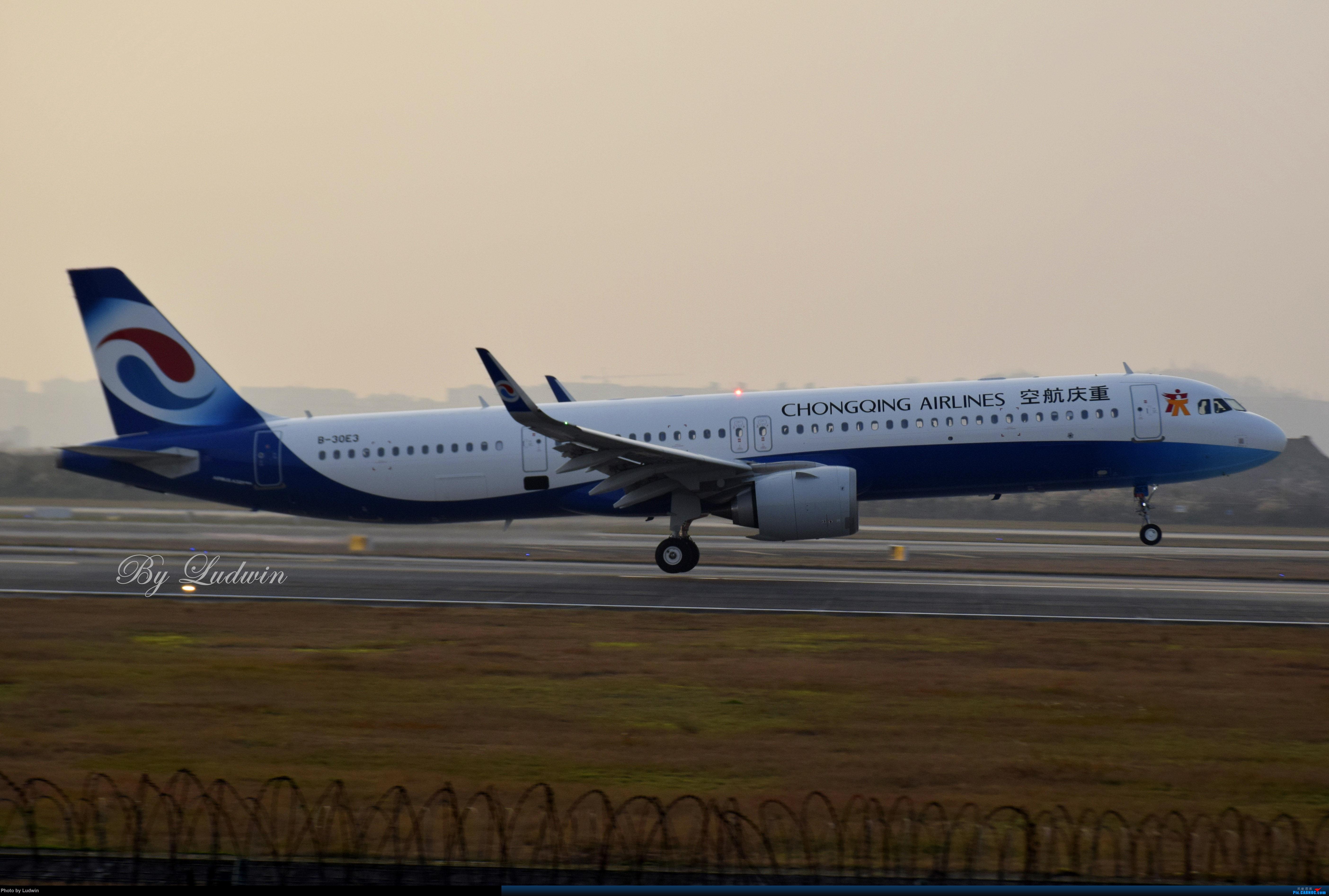 Re:[原创]【新人首发】重庆江北的下午 AIRBUS A321NEO B-30E3 中国重庆江北国际机场