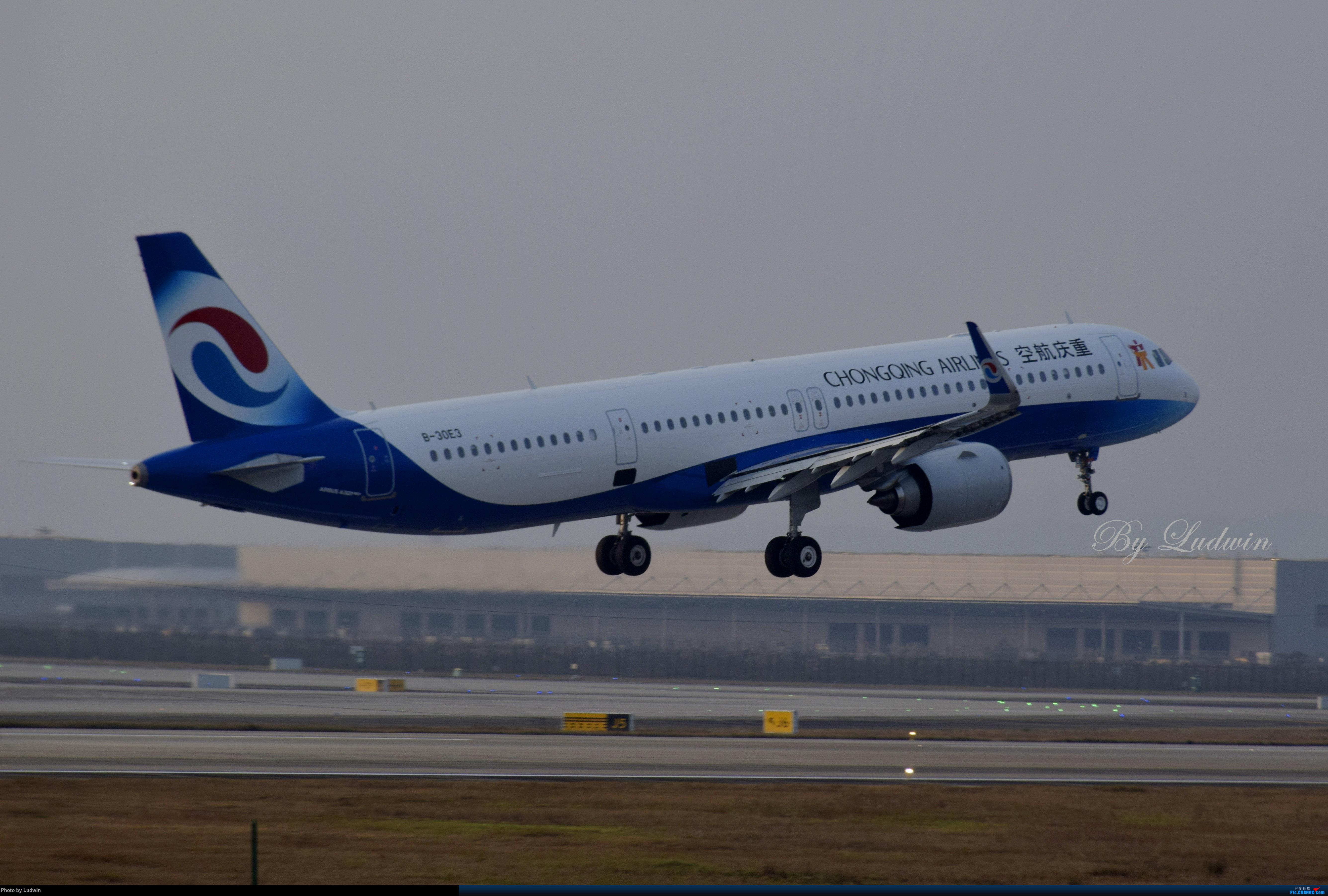 Re:【新人首发】重庆江北的下午 AIRBUS A321NEO B-30E3 中国重庆江北国际机场