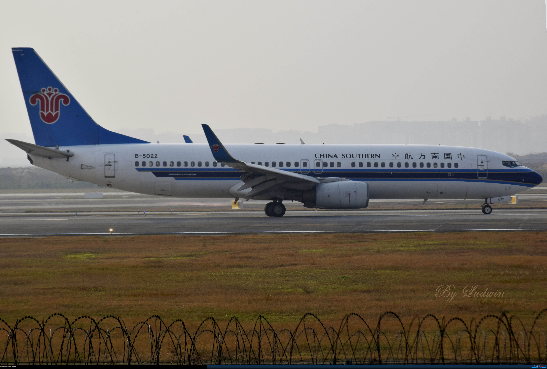 Re:[原创]【新人首发】重庆江北的下午 BOEING 737-800 B-5022 中国重庆江北国际机场