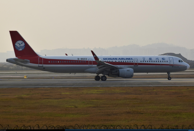 Re:[原创]【新人首发】重庆江北的下午 AIRBUS A321-200 B-8603 中国重庆江北国际机场