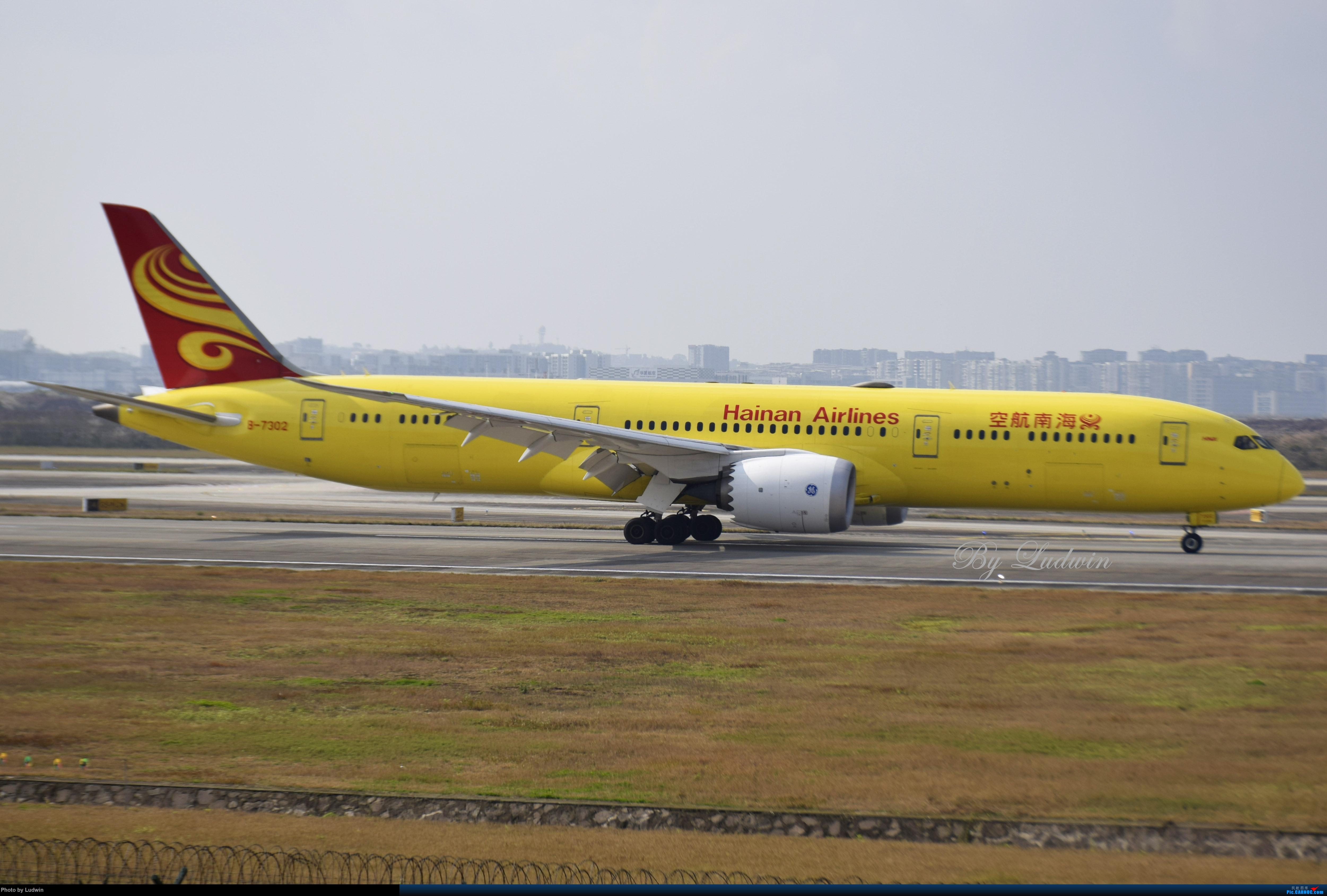 Re:[原创]【新人首发】重庆江北的下午 BOEING 787-9 B-7302 中国重庆江北国际机场