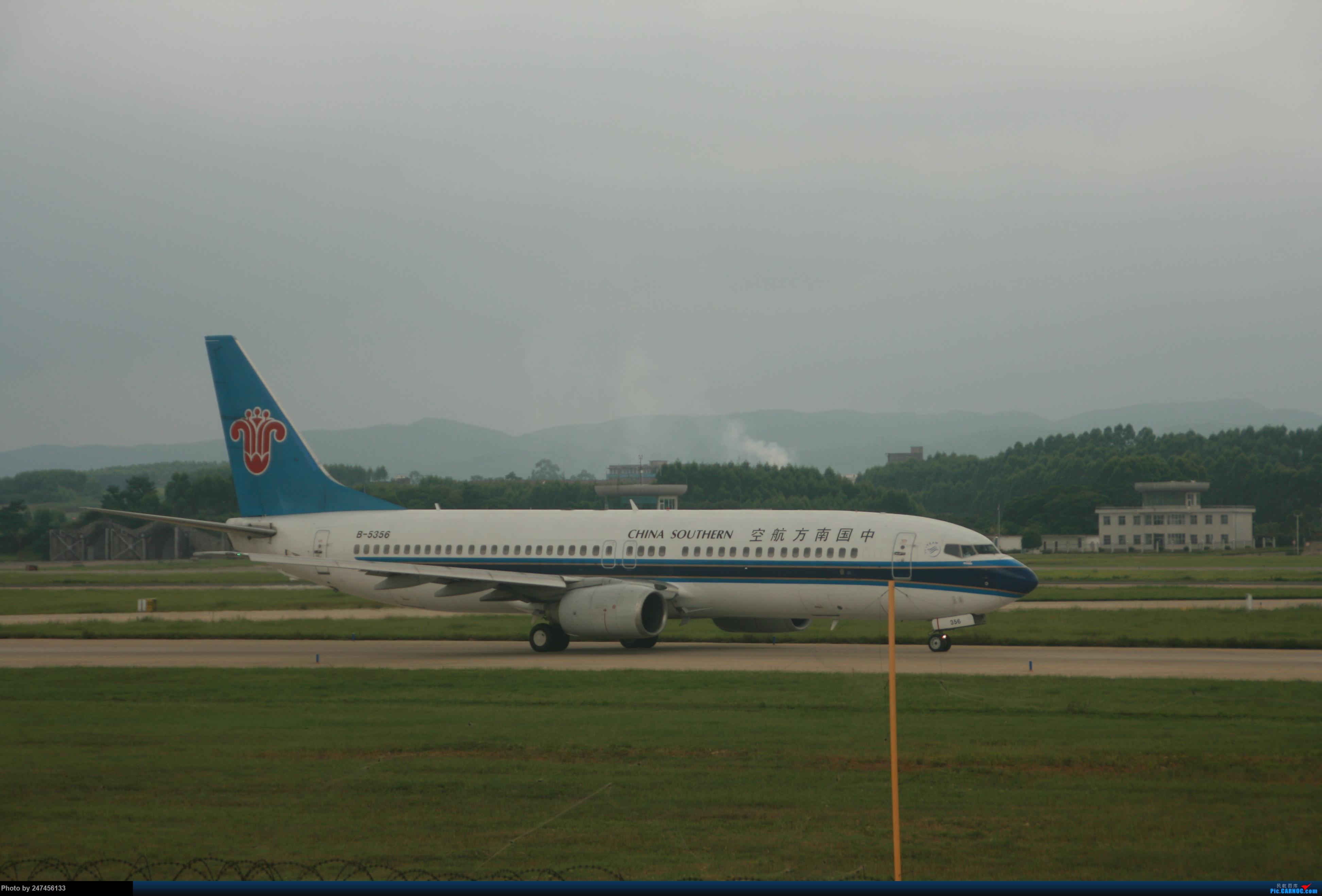 南航B738 BOEING 737-800 B-5356 中国南宁吴圩国际机场