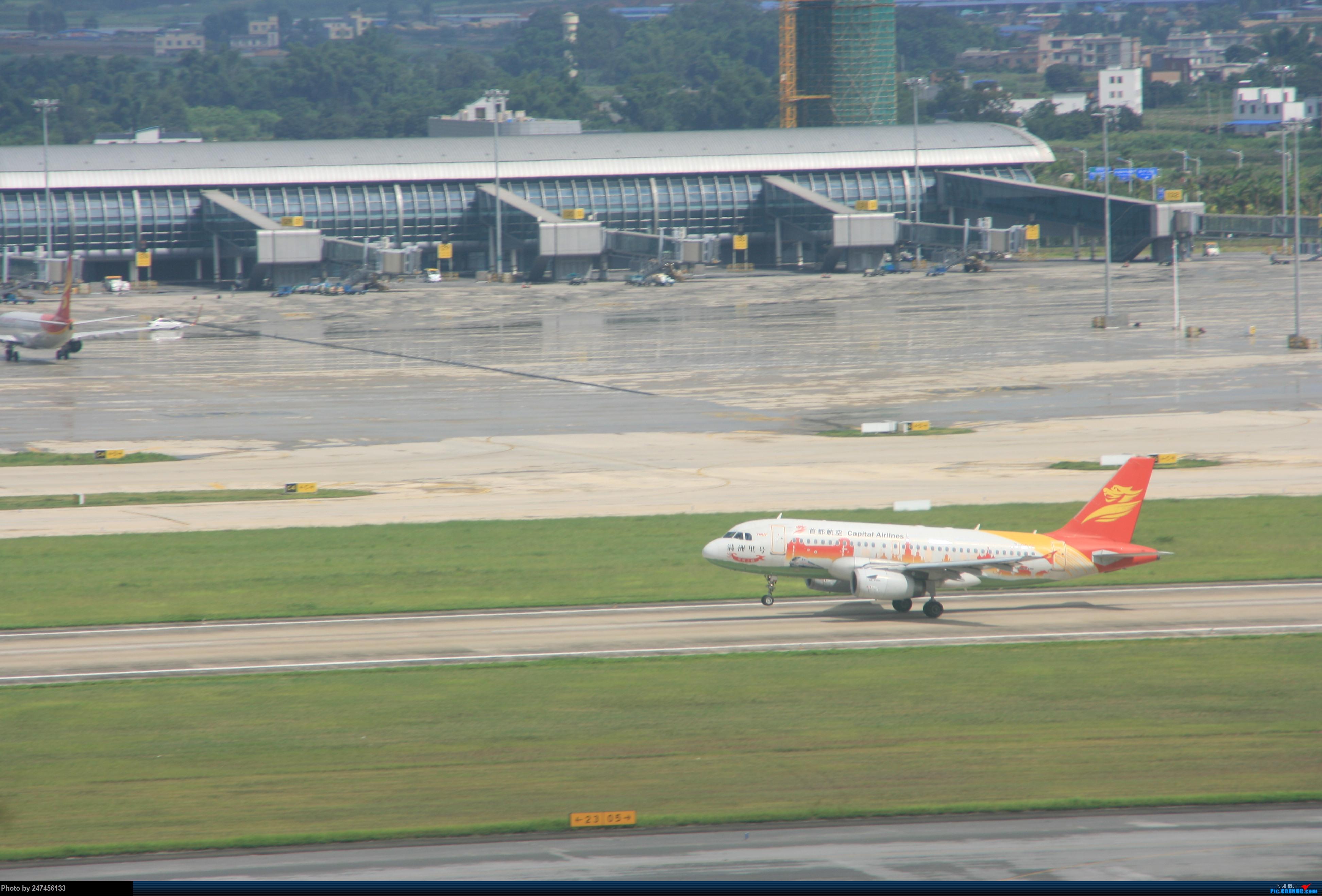 首航满洲里号 AIRBUS A319-100 B-6245 中国南宁吴圩国际机场