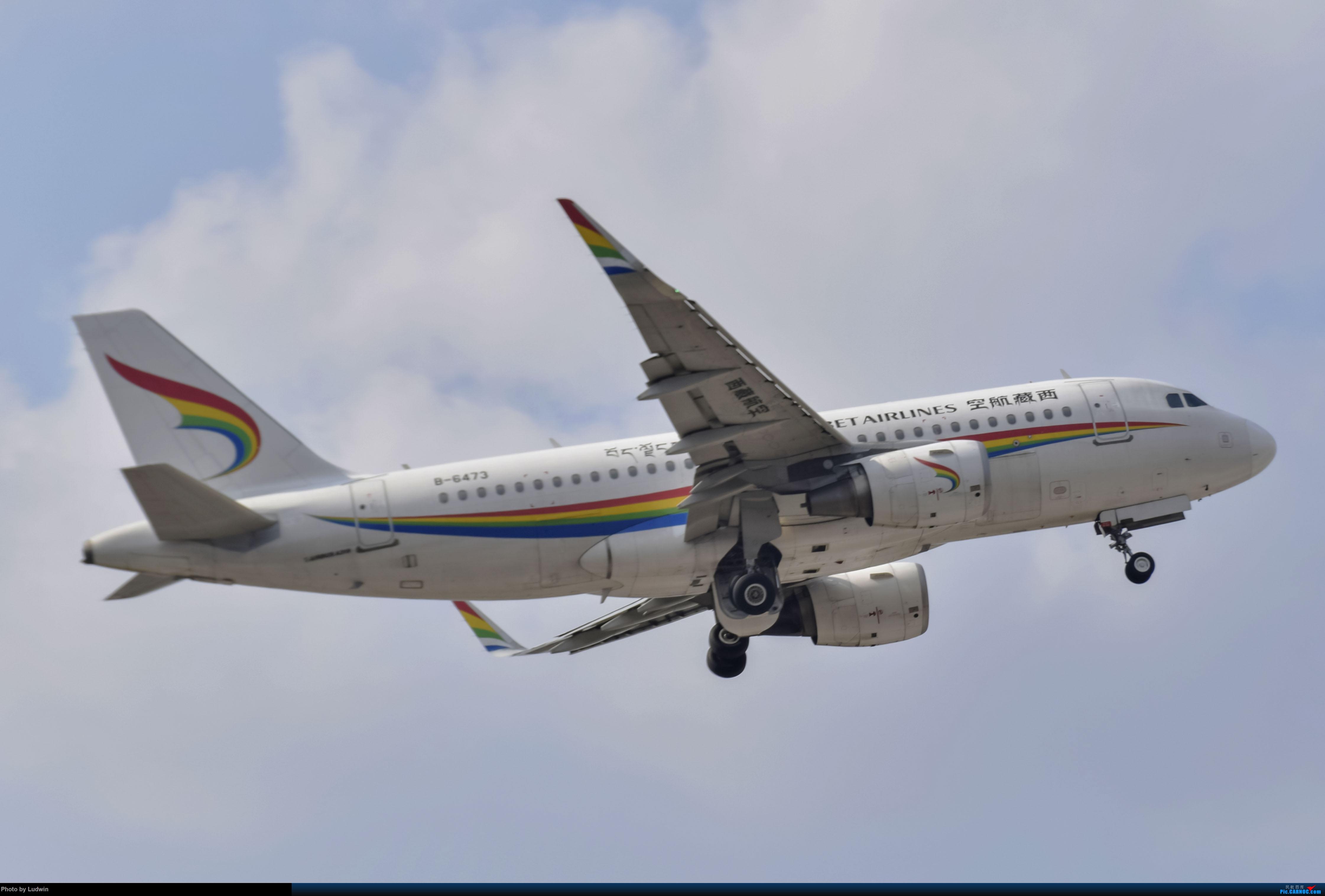 Re:[原创][炒冷饭]年前在ZUCK/CKG的存货 AIRBUS A319-100 B-6473 中国重庆江北国际机场