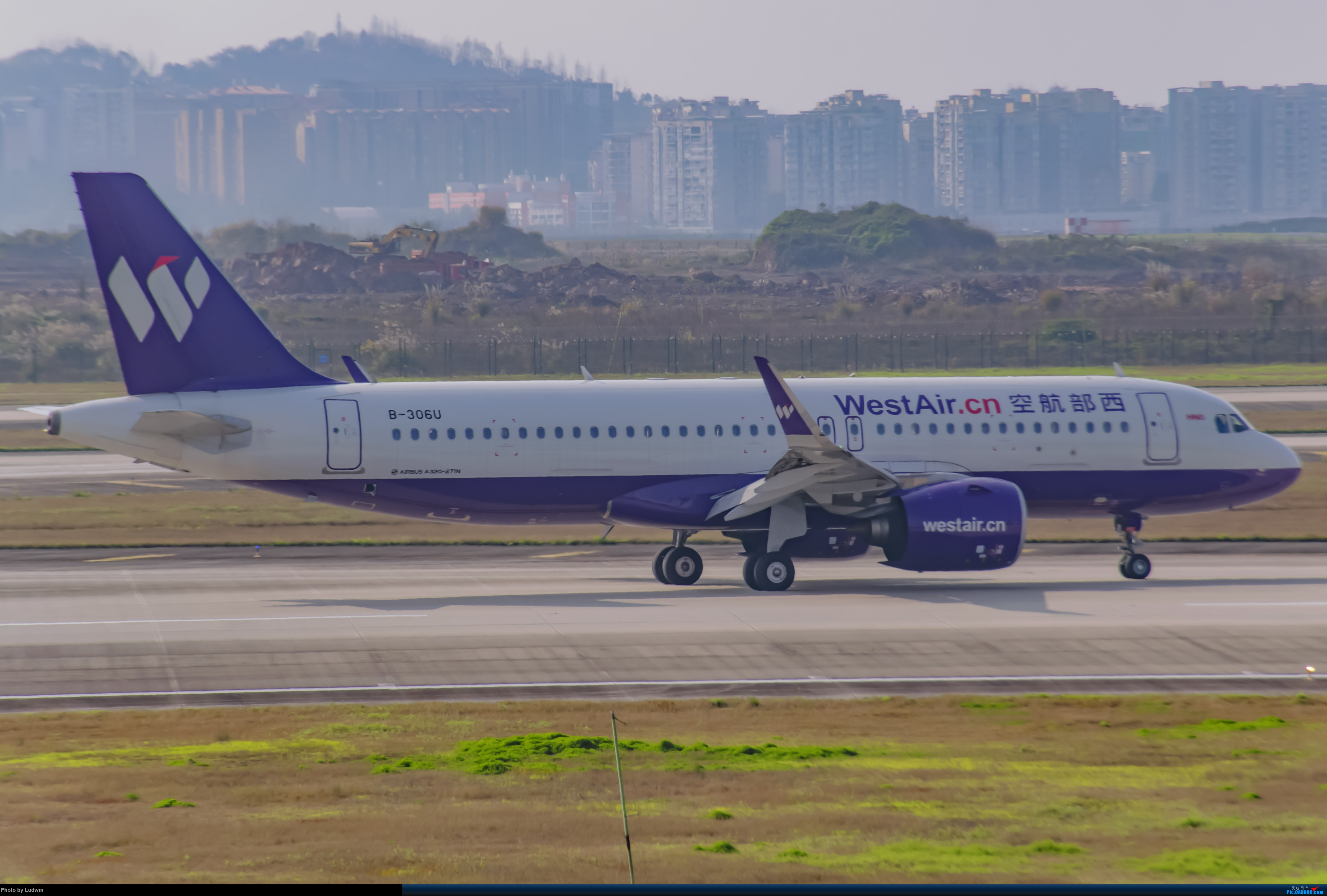 Re:[原创]疫情影响下的ZUCK AIRBUS A320NEO B-306U 中国重庆江北国际机场