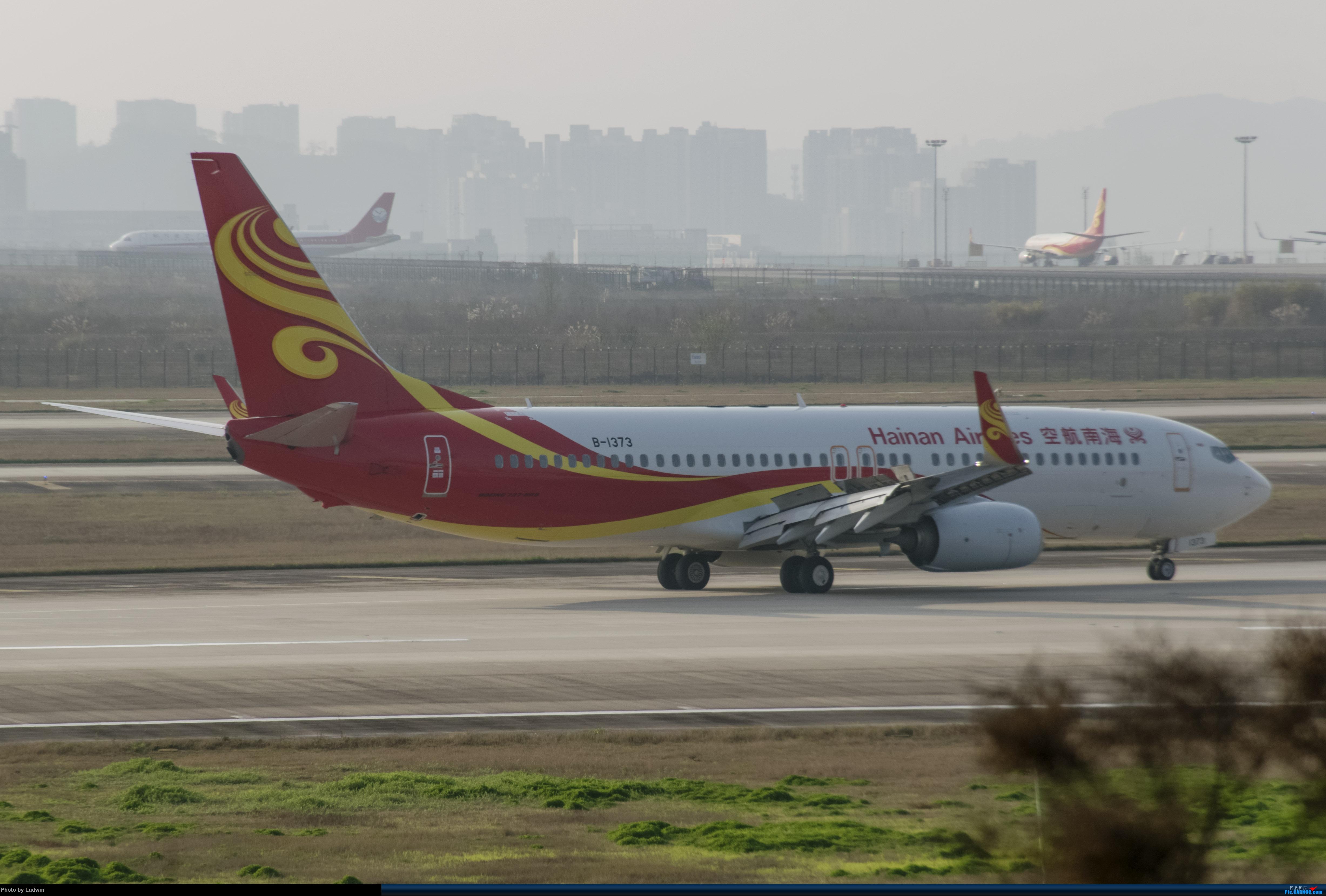 Re:疫情影响下的ZUCK BOEING 737-800 B-1373 中国重庆江北国际机场