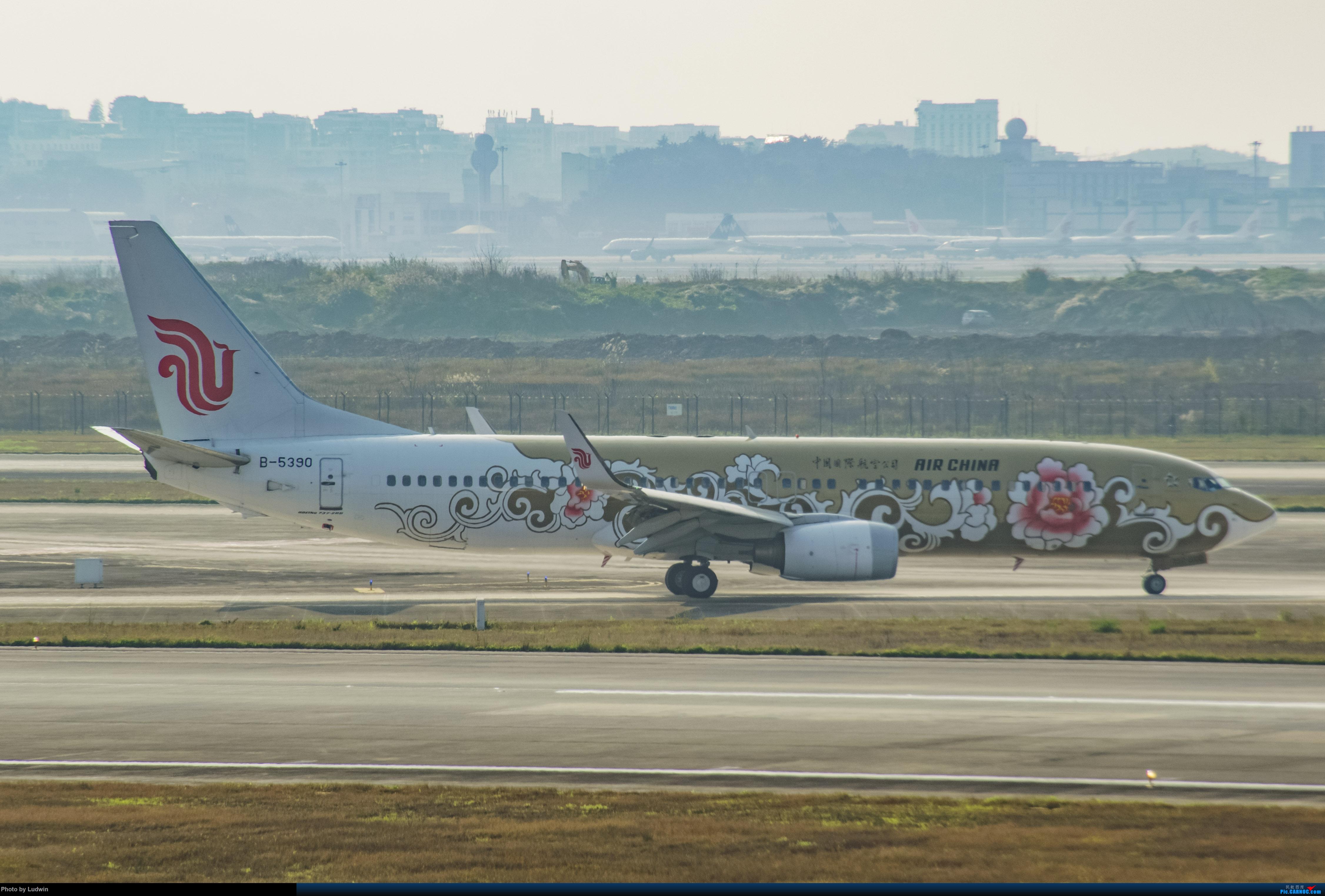 Re:[原创]疫情影响下的ZUCK BOEING 737-800 B-5390 中国重庆江北国际机场