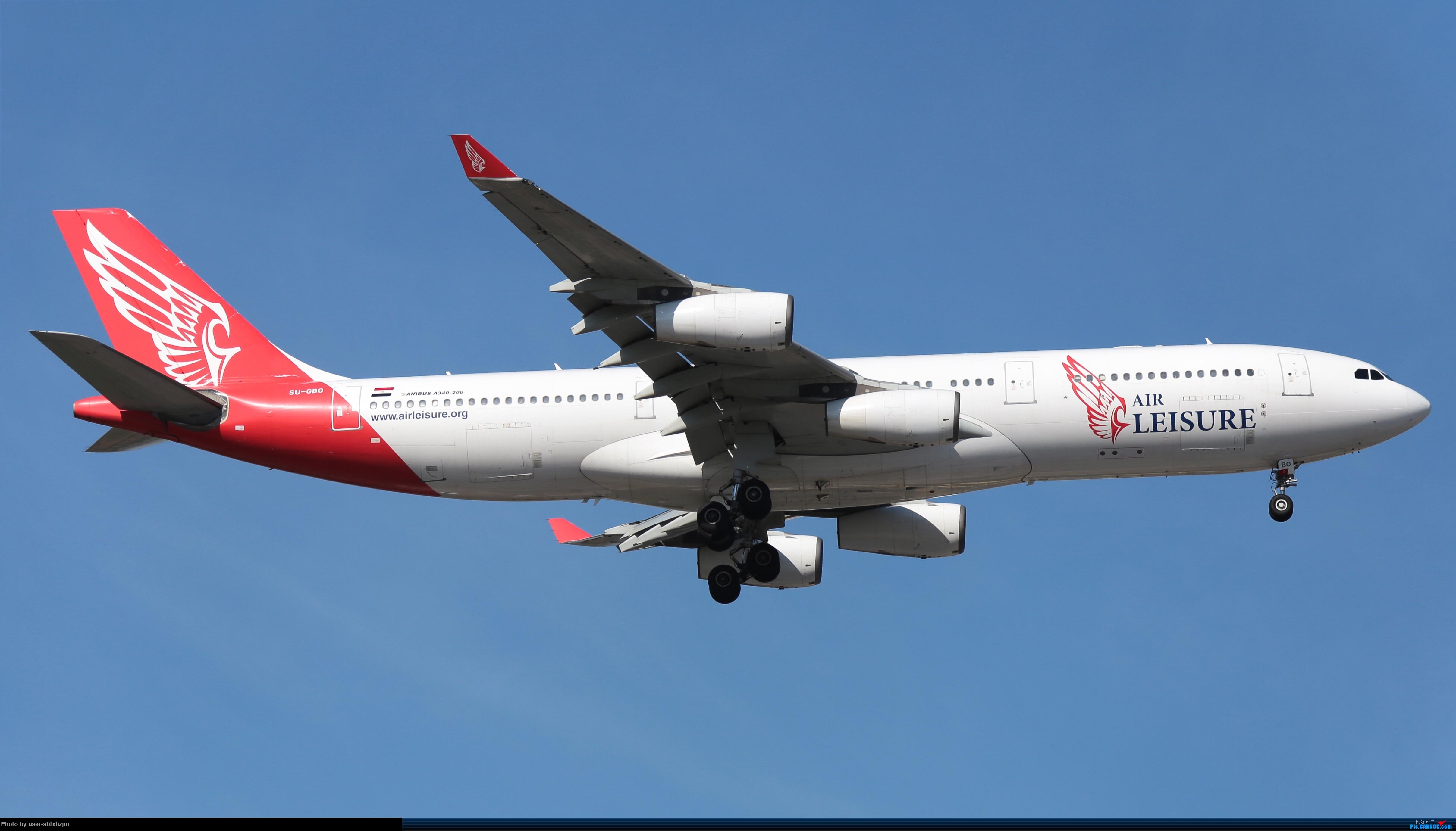 Re:那些年pek冷门儿的好货 AIRBUS A340-200 SU-GBO 中国北京首都国际机场