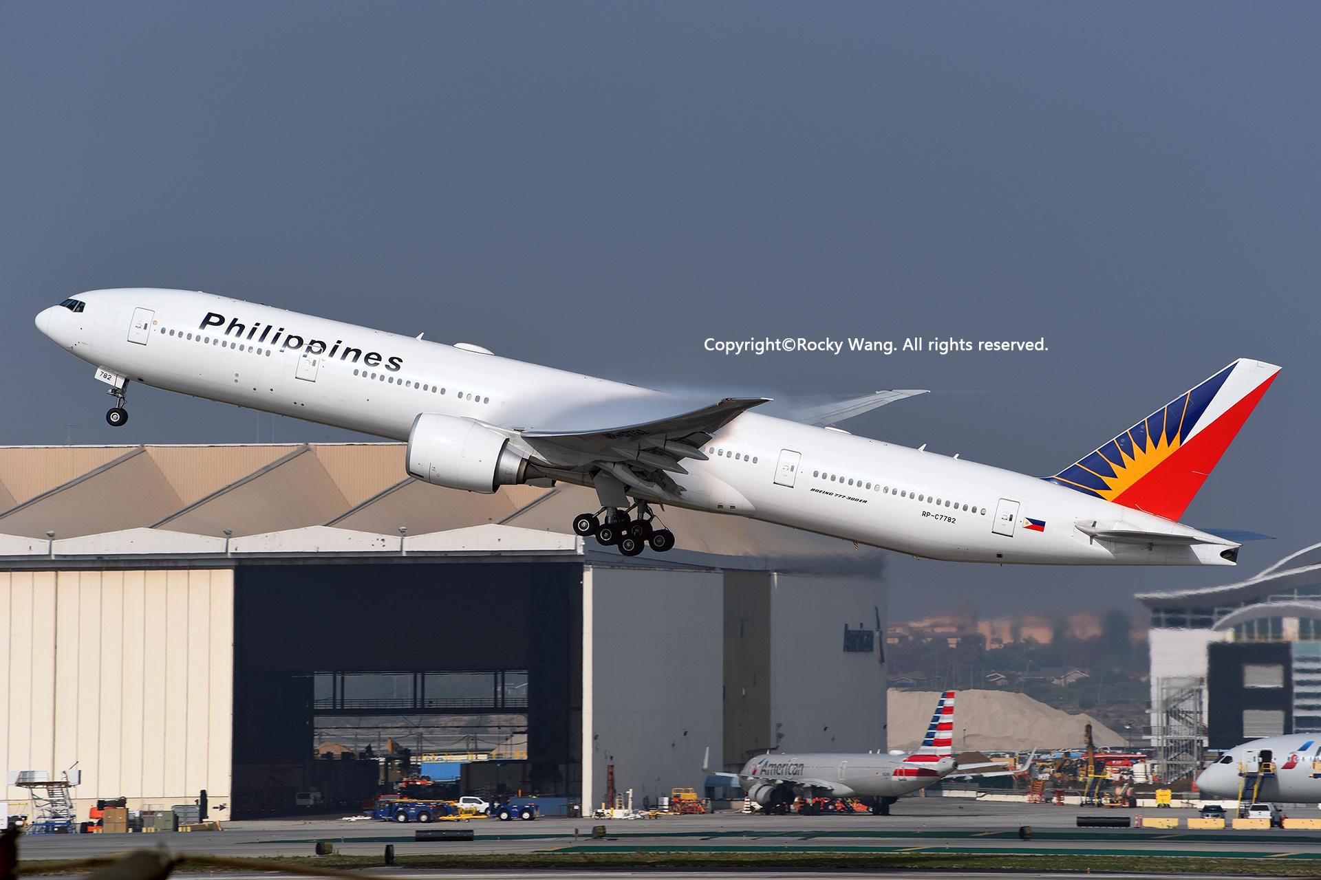 Re:[原创]随便来一组 不凑30图了 BOEING 777-3F6ER RP-C7782 Los Angeles Int'l Airport