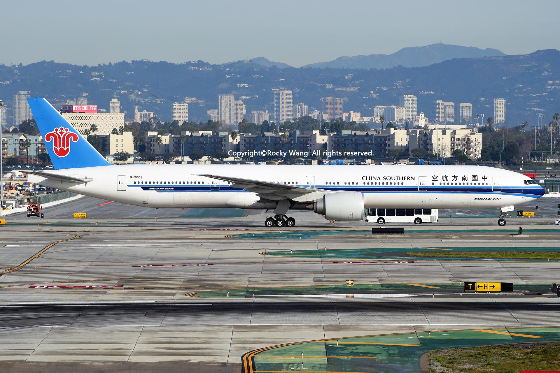 Re:[原创]随便来一组 不凑30图了 BOEING 777-31BER B-2008 Los Angeles Int'l Airport