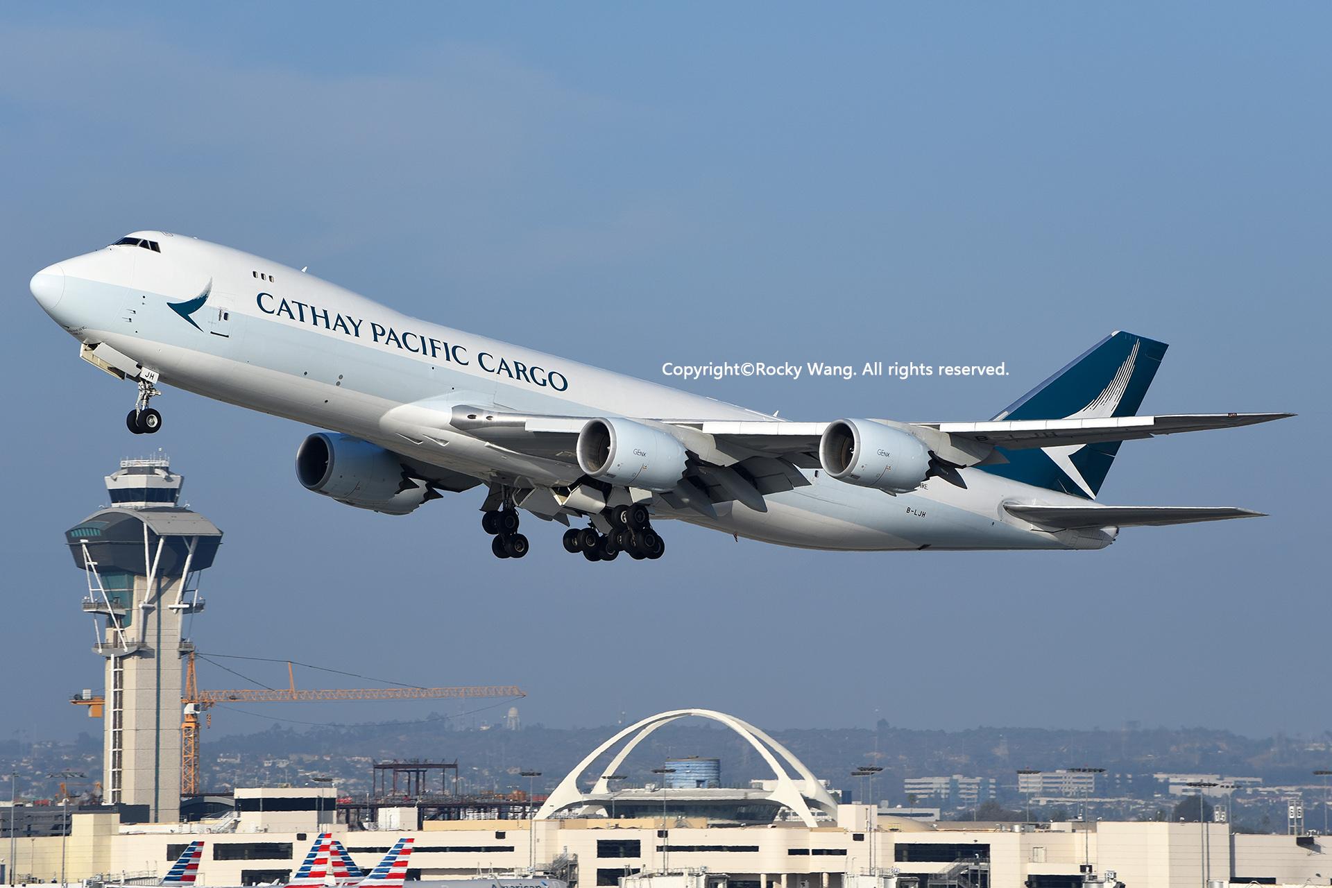 Re:[原创]随便来一组 不凑30图了 BOEING 747-867F B-LJH Los Angeles Int'l Airport