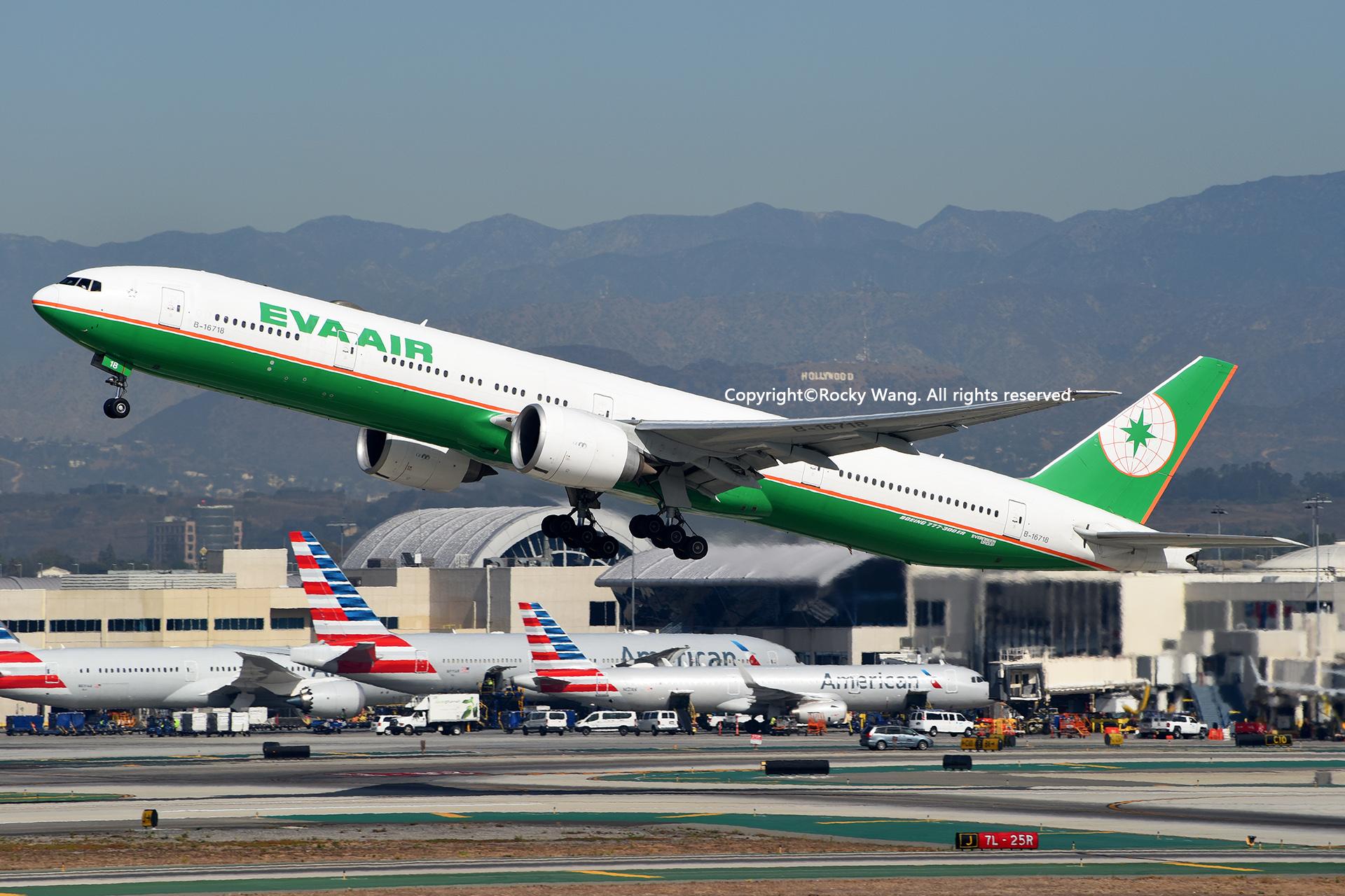 Re:[原创]随便来一组 不凑30图了 BOEING 777-35EER B-16718 Los Angeles Int'l Airport