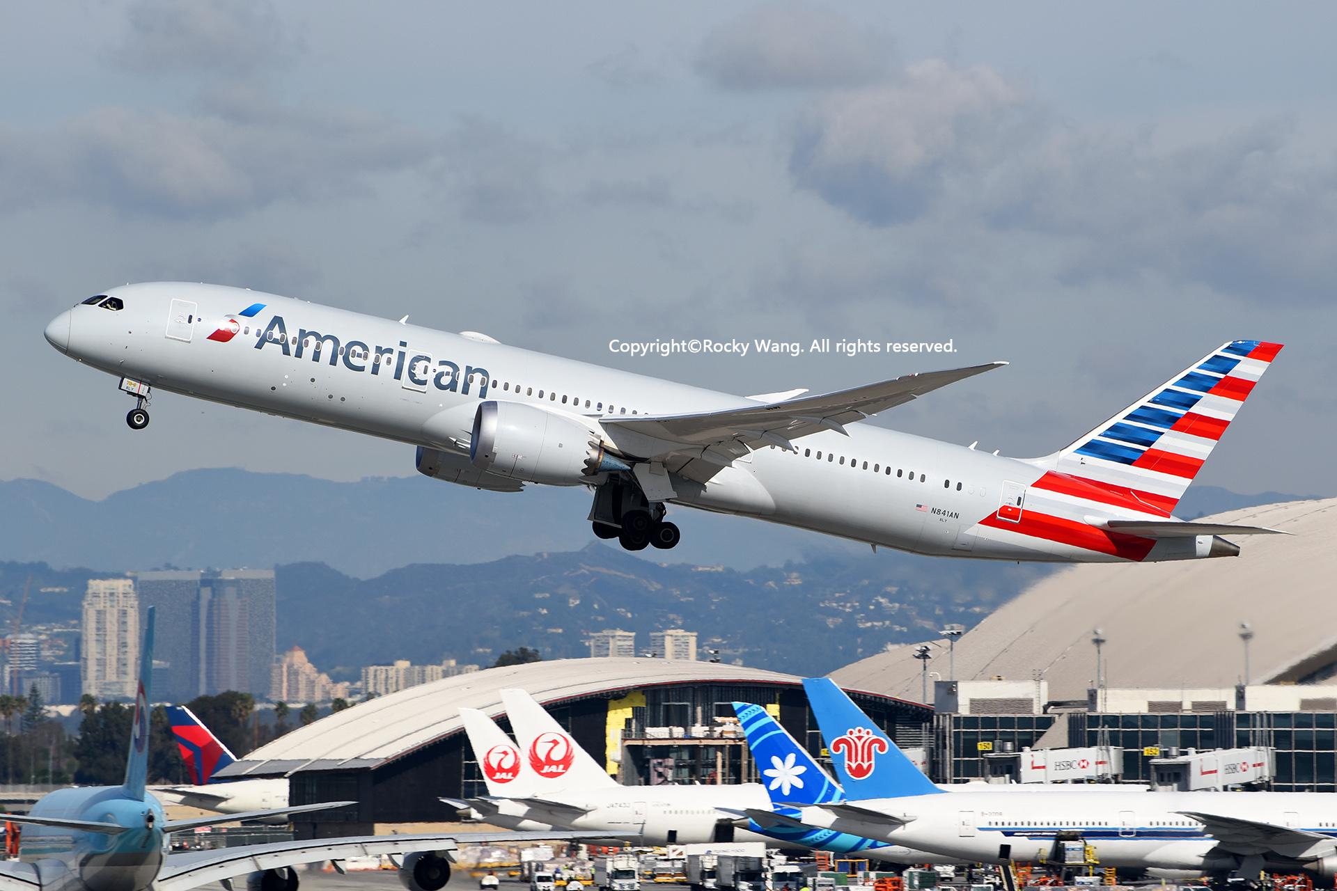 Re:[原创]随便来一组 不凑30图了 BOEING 787-9 DREAMLINER N841AN Los Angeles Int'l Airport