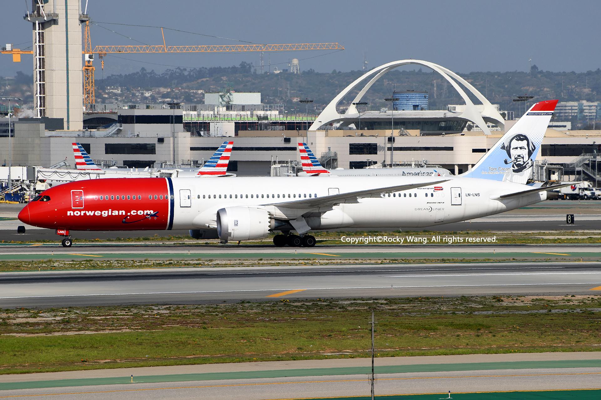 Re:[原创]随便来一组 不凑30图了 BOEING 787-9 DREAMLINER LN-LNS Los Angeles Int'l Airport