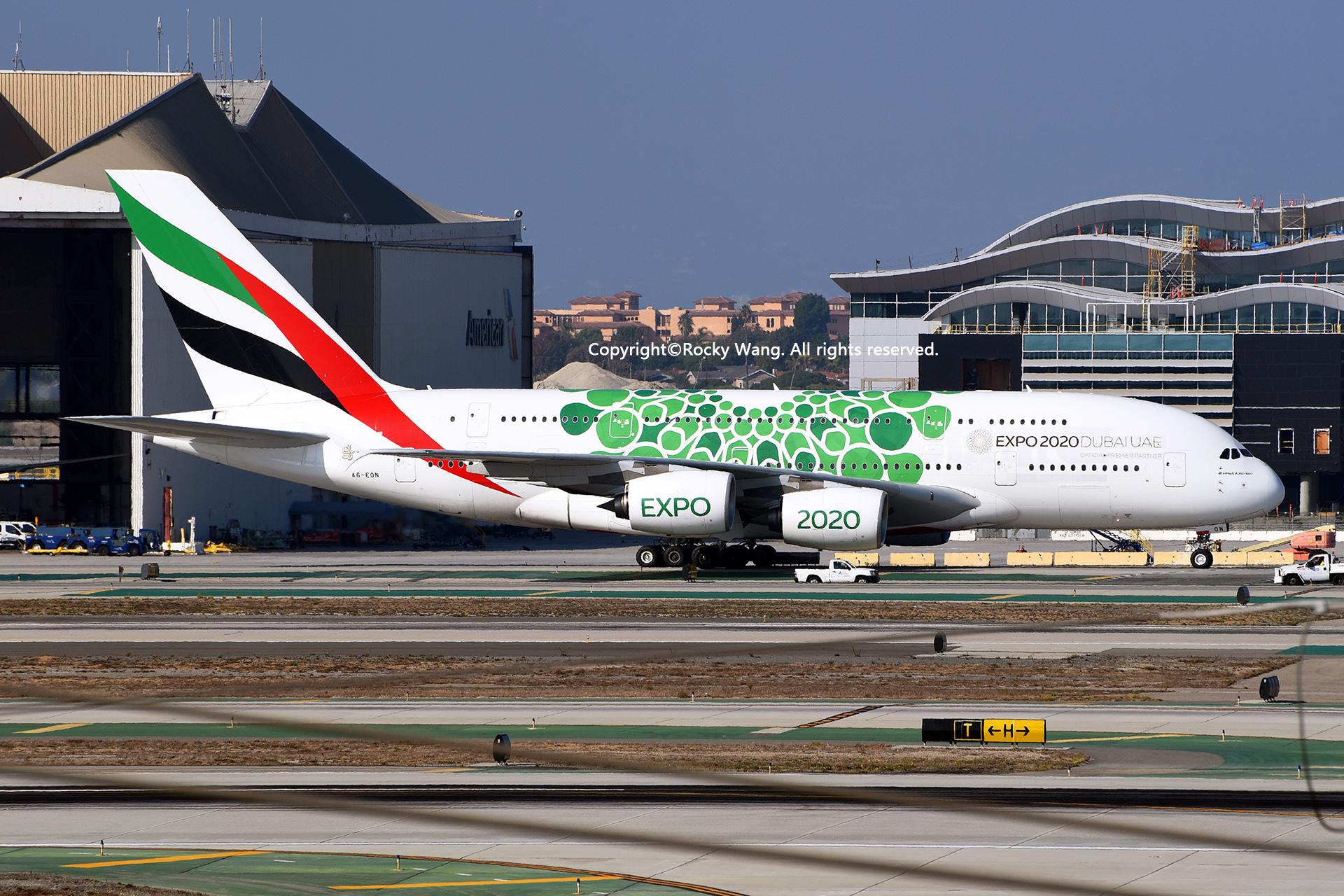 Re:[原创]随便来一组 不凑30图了 AIRBUS A380-861 A6-EON Los Angeles Int'l Airport