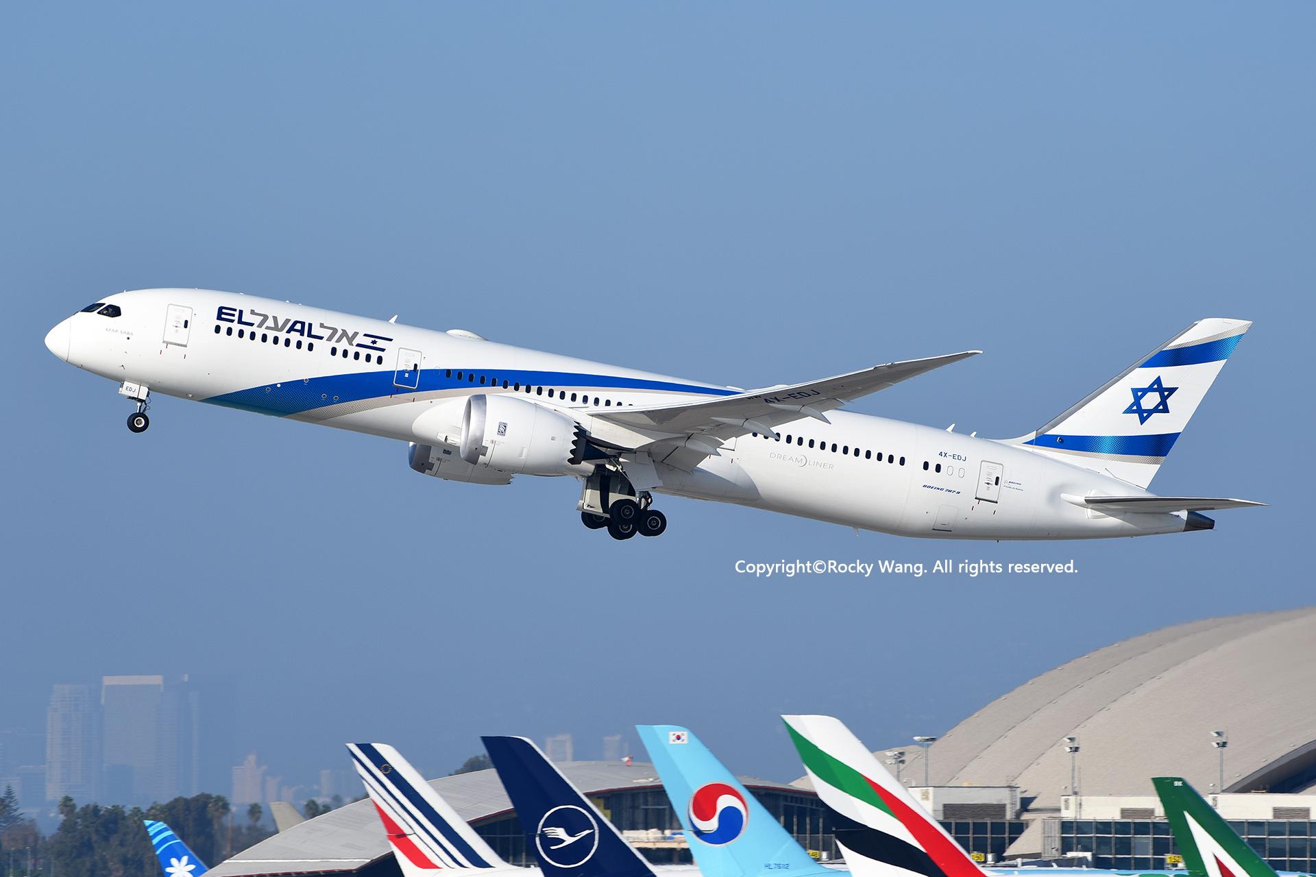Re:[原创]随便来一组 不凑30图了 BOEING 787-9 DREAMLINER 4X-EDJ Los Angeles Int'l Airport
