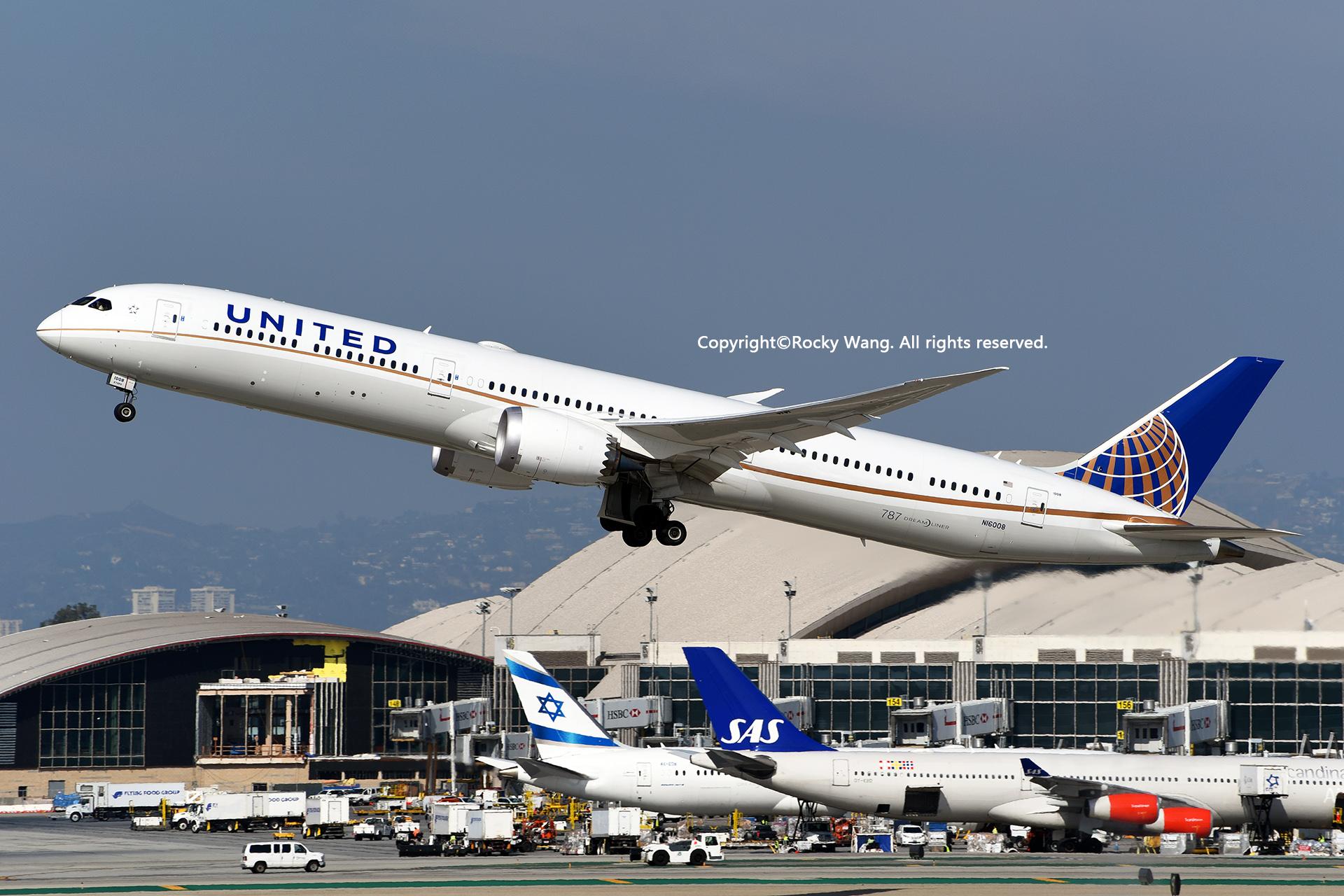 Re:[原创]随便来一组 不凑30图了 BOEING 787-10 DREAMLINER N16008 Los Angeles Int'l Airport